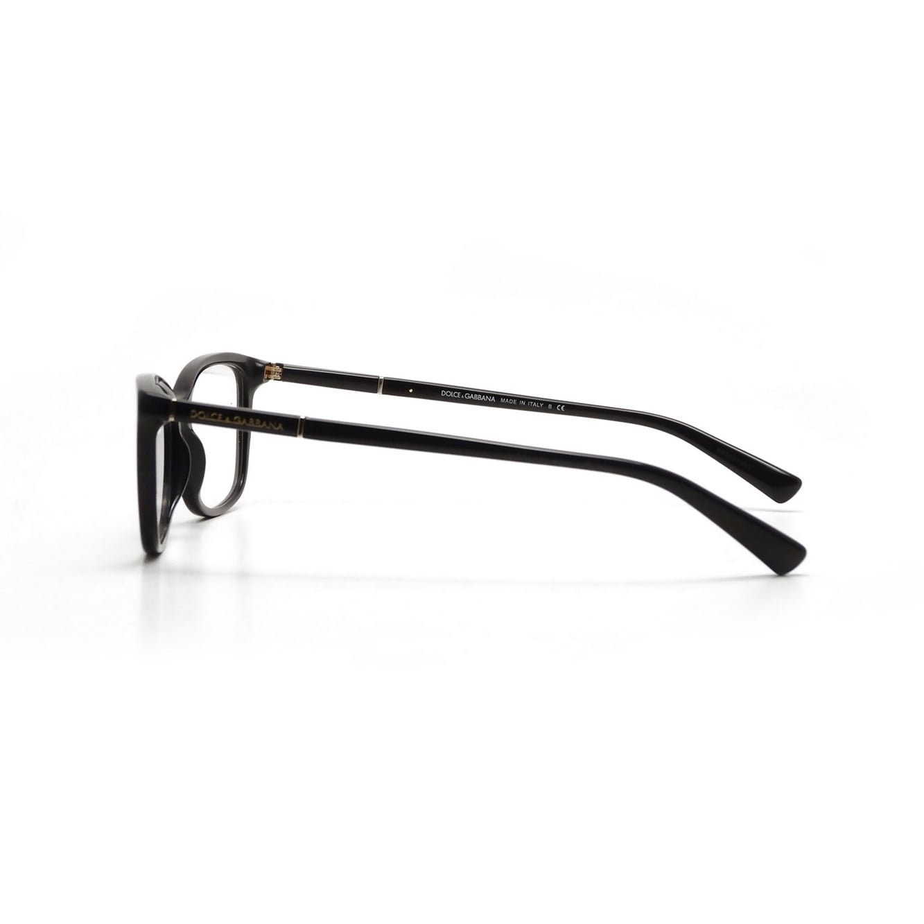 994c553a778 Shop Dolce   Gabbana Women s DG3219 501 53 Square Plastic Black Clear  Eyeglasses - Free Shipping Today - Overstock - 14799369