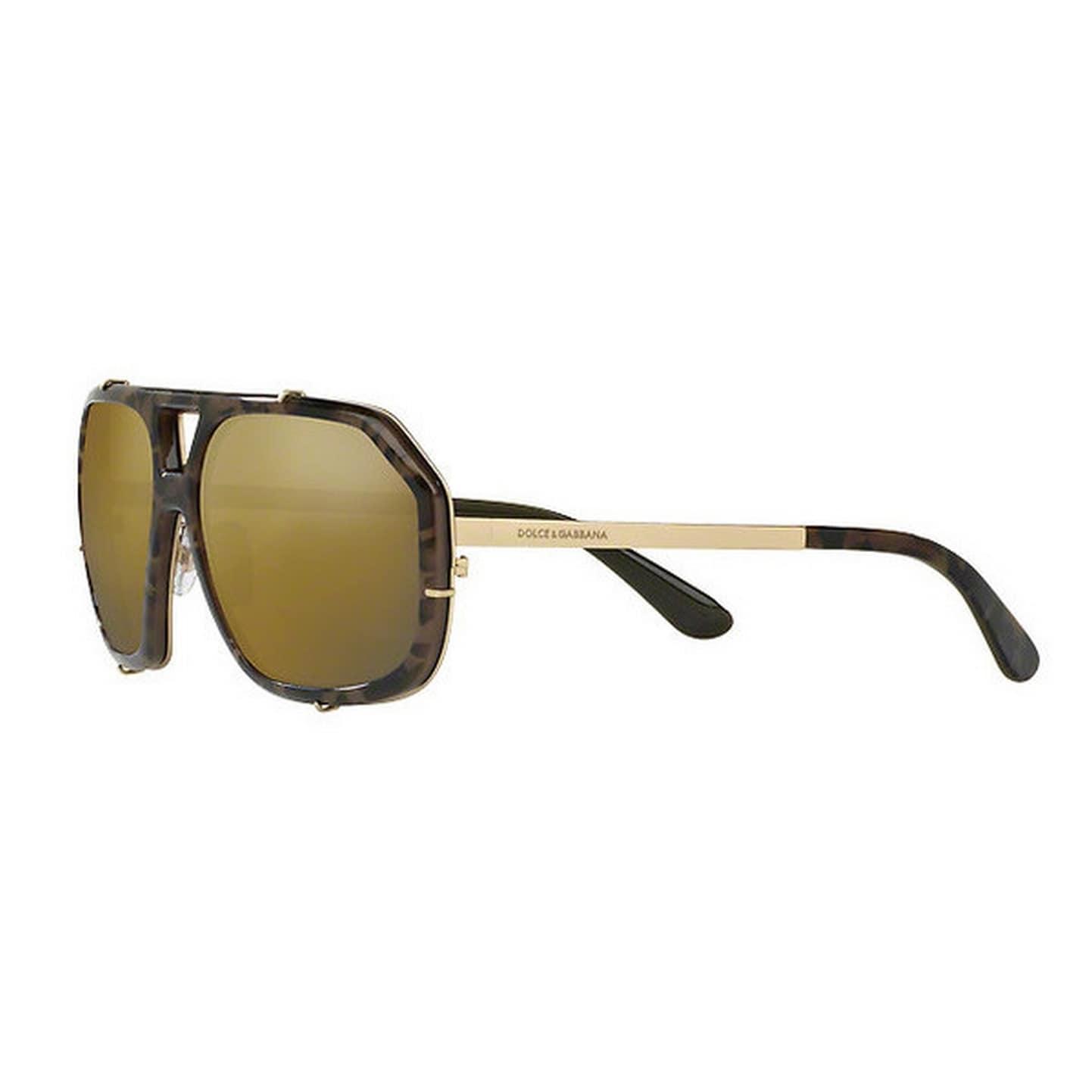 6a1ea34cb790 Shop Dolce & Gabbana Men's DG2167 1306W7 61 Aviator Metal Plastic Clear  Eyeglasses - Free Shipping Today - Overstock - 14799427