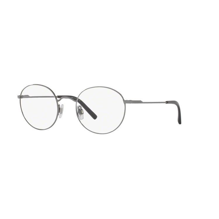 199fb12218 Shop Dolce   Gabbana Men s DG1290 1305 50 Round Metal Black Clear  Eyeglasses - Free Shipping Today - Overstock - 14799433
