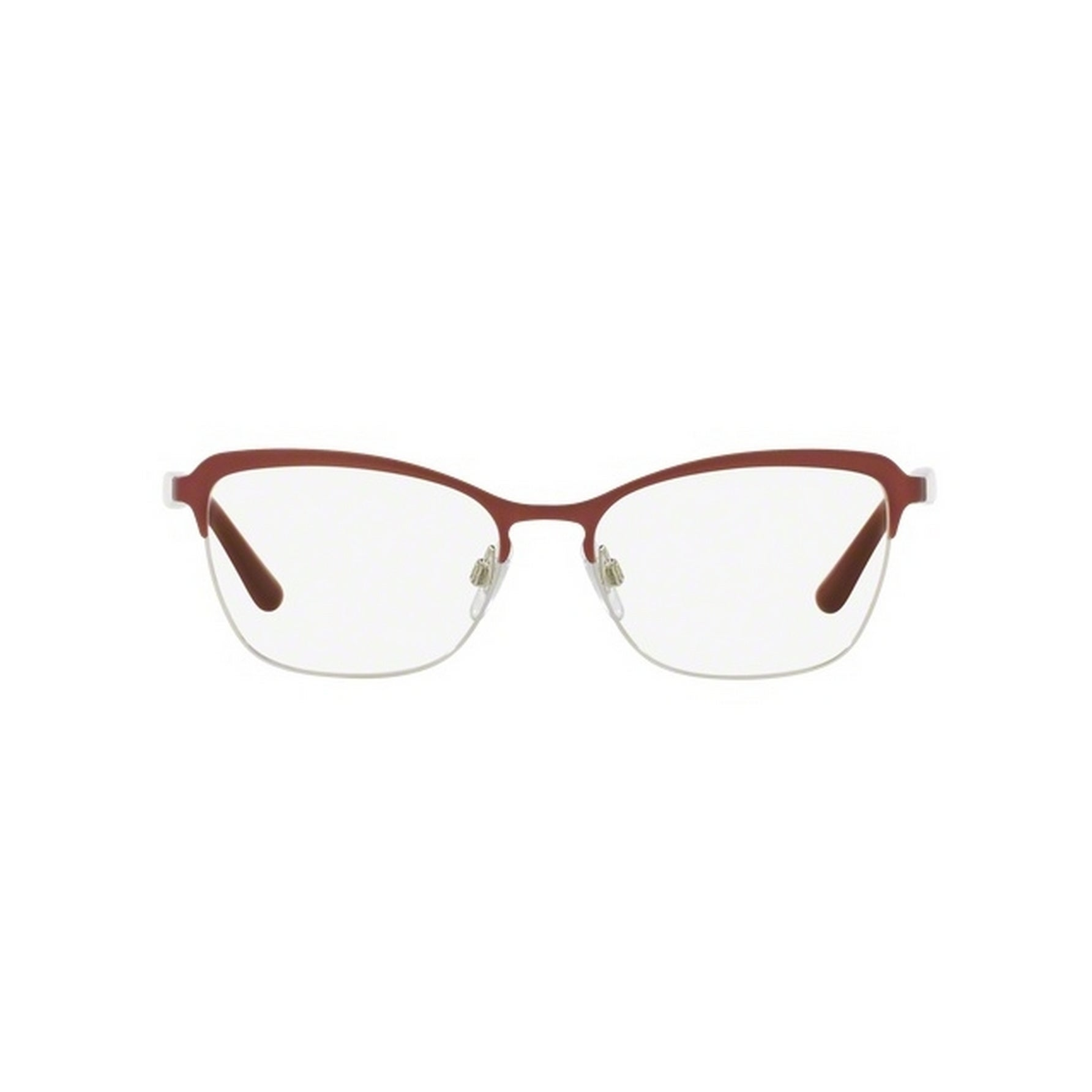 083ef52f3dc5 Shop Dolce   Gabbana Women s DG1286 1303 53 Cateye Metal Red Clear  Eyeglasses - Free Shipping Today - Overstock - 14799476