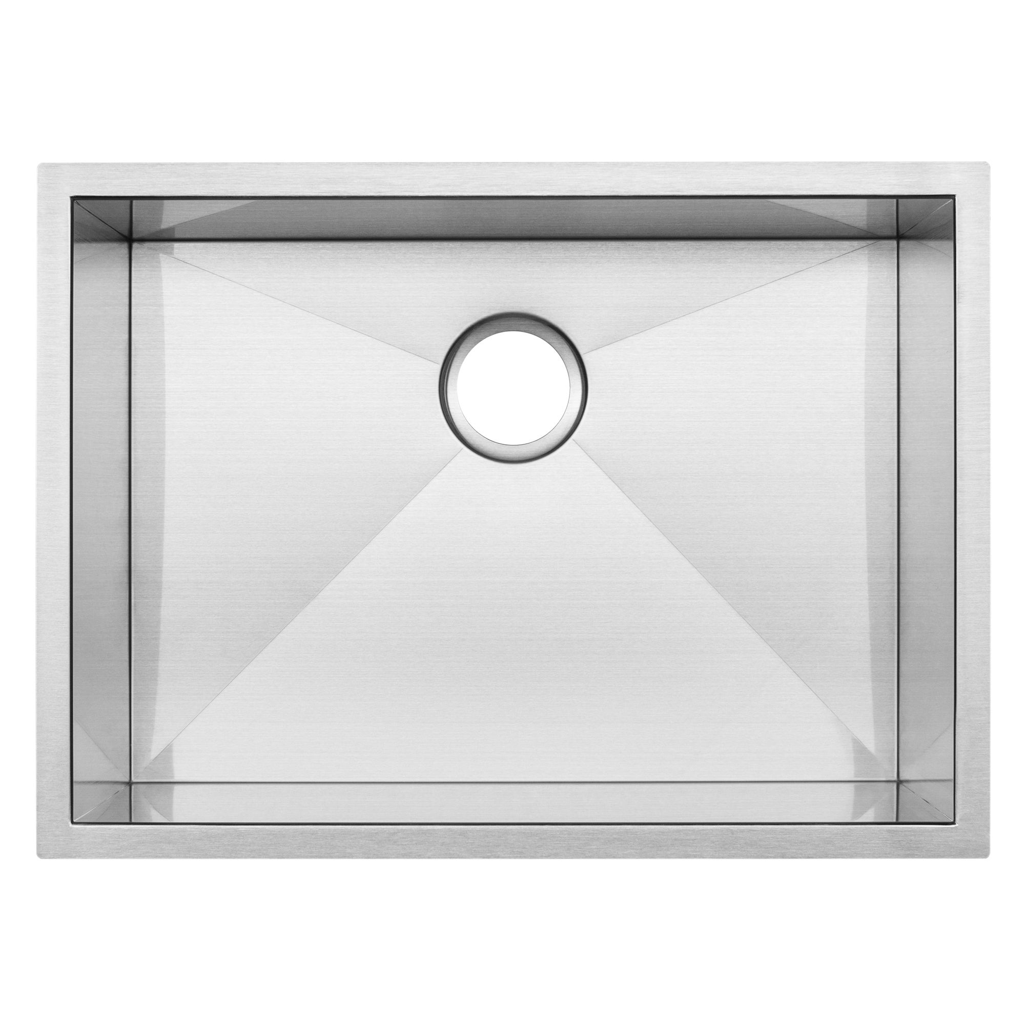 26   ticor s3670 stainless steel 16 gauge single bowl undermount square kitchen sink zero radius corners   free shipping today   overstock com   21321297 26   ticor s3670 stainless steel 16 gauge single bowl undermount      rh   overstock com
