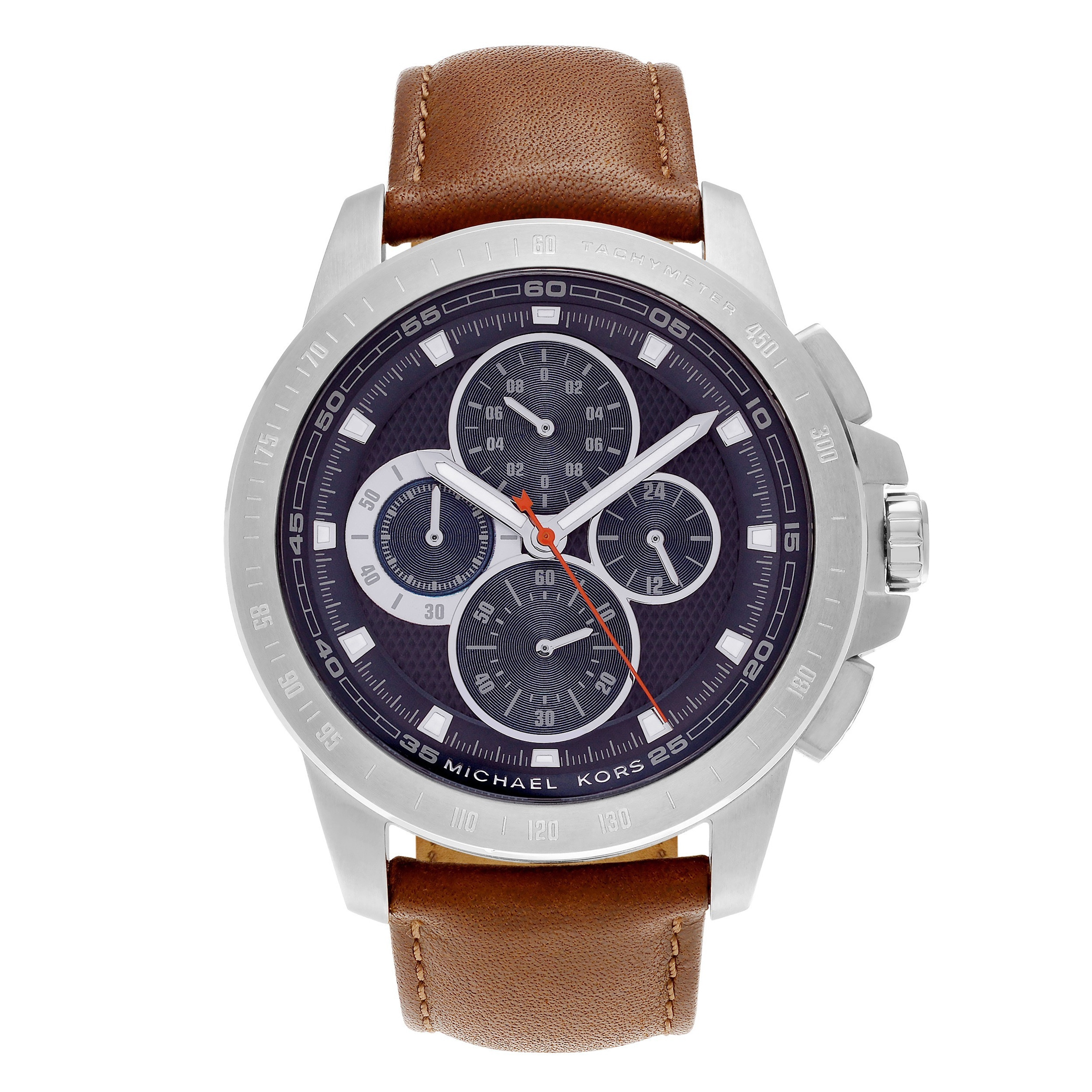 Shop Michael Kors Mens Mk8518 Ryker Stainless Steel Tachymeter