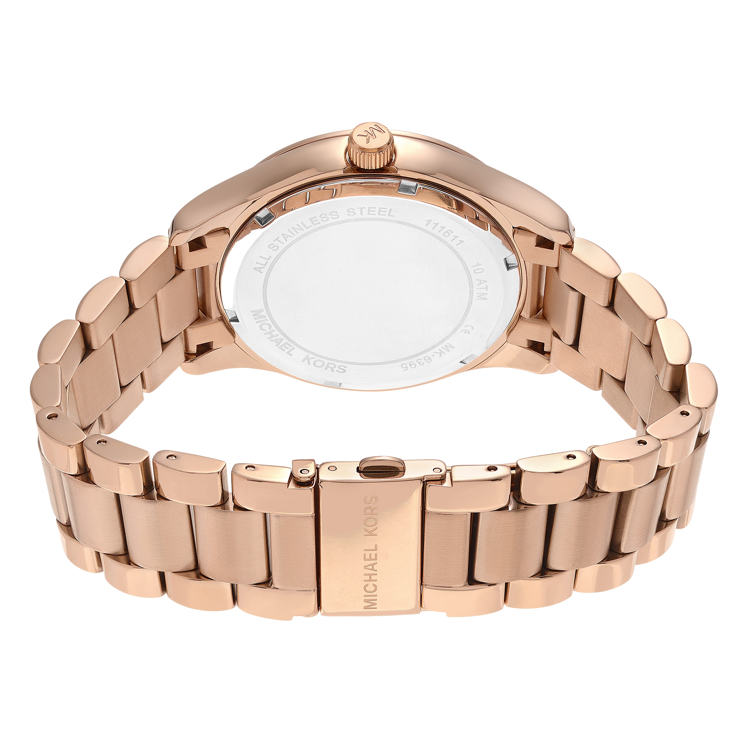 Shop michael kors womens mk6395 layton rose goldtone stainless shop michael kors womens mk6395 layton rose goldtone stainless steel world map dial link bracelet watch free shipping today overstock 14803642 gumiabroncs Images
