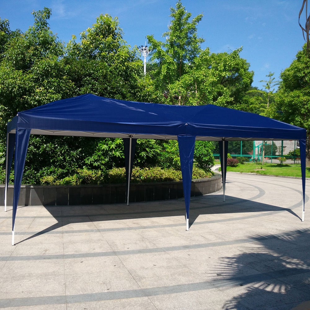86335668f3 EZ Pop UP Wedding Party Tent Folding Gazebo Canopy Heavy Duty/ Carry Case -  On Sale - Free Shipping Today - Overstock - 14807493