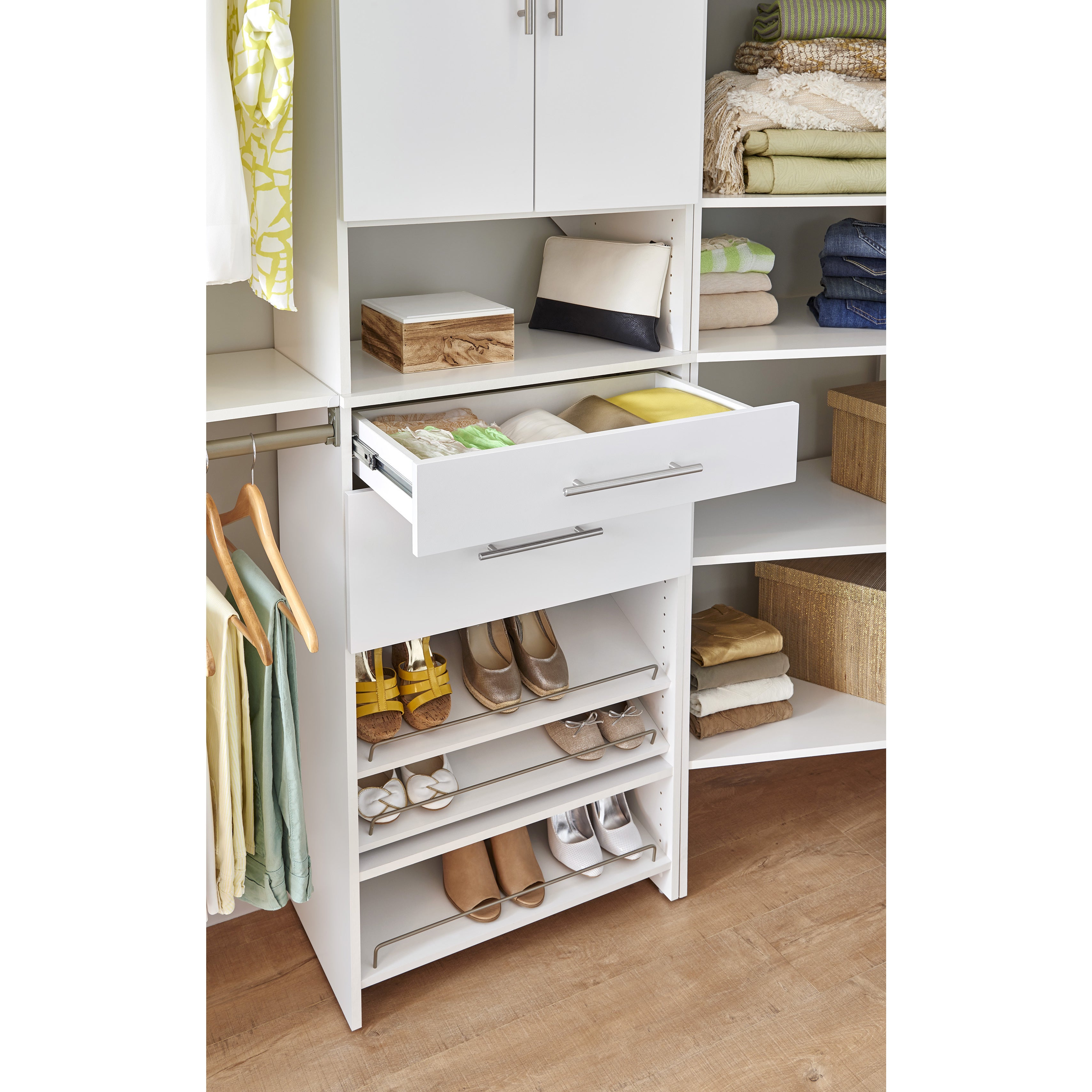 Great ClosetMaid SuiteSymphony Modern 25 X 5 Inch Drawer   Free Shipping On  Orders Over $45   Overstock   21331713