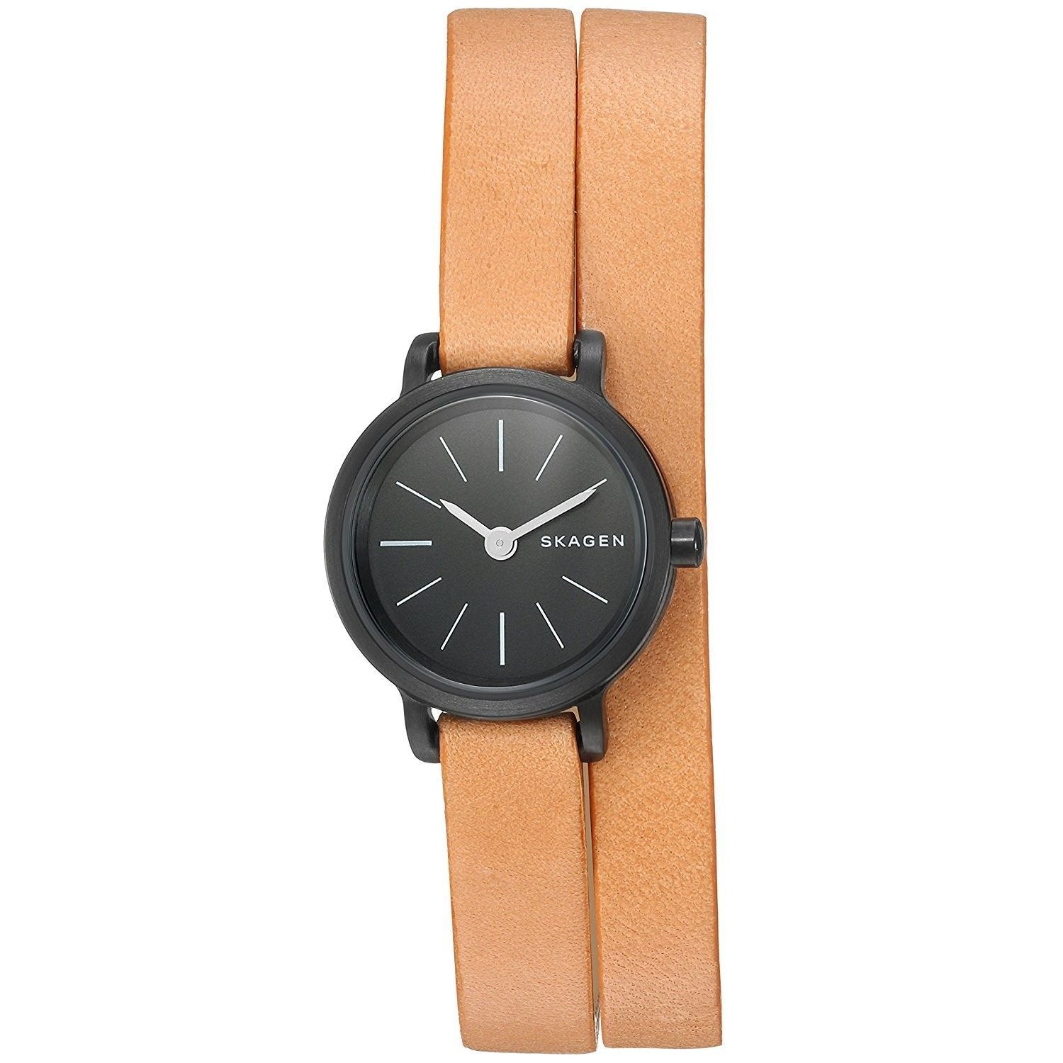 mens review watches c skagen image leather s watch strap hagen chriselli tan