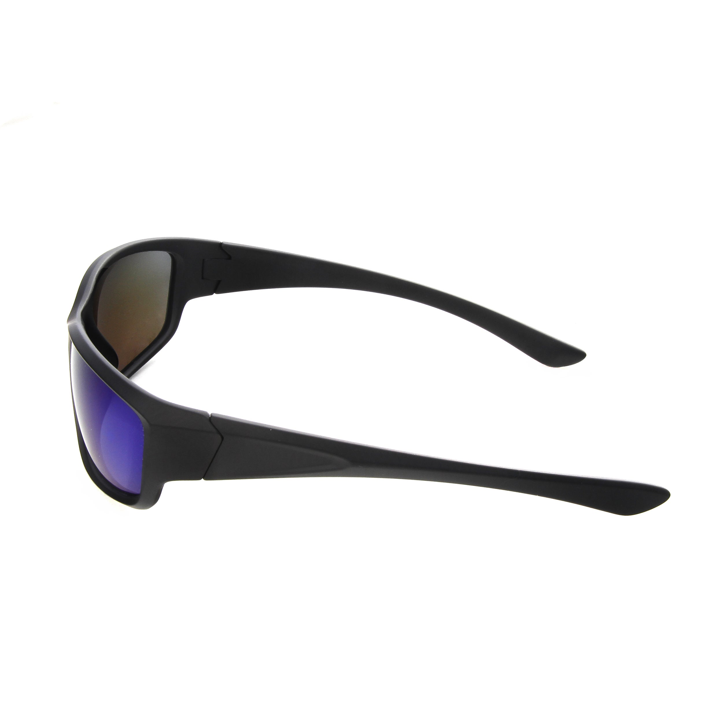 6de8478562 Shop Hot Optix Men s Polarized Sport Wrap Mirrored Lens Sunglasses - Free  Shipping On Orders Over  45 - Overstock - 14819894