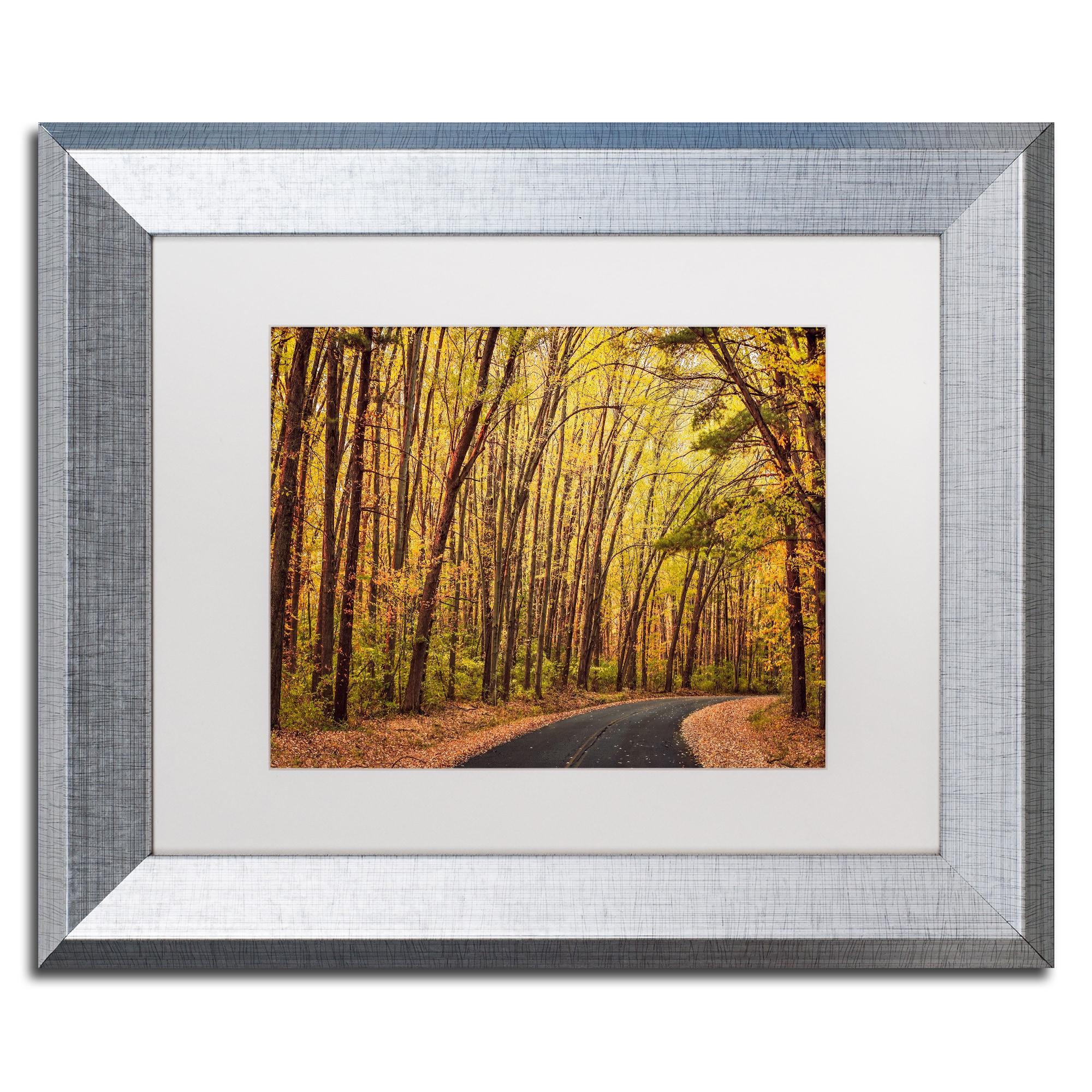 Shop Jason Shaffer \'Findlay Road\' Matted Framed Art - Free Shipping ...
