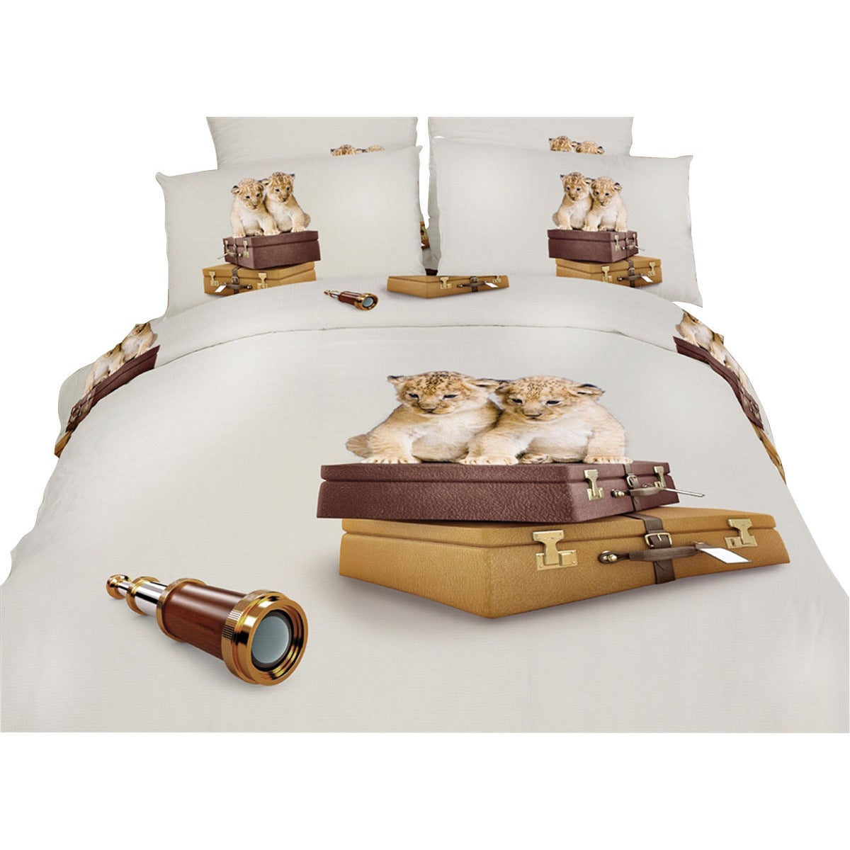 Dolce Mela Best Friends Cotton Bedding Duvet Cover And Sheet Set Free Shipping Today 14821877