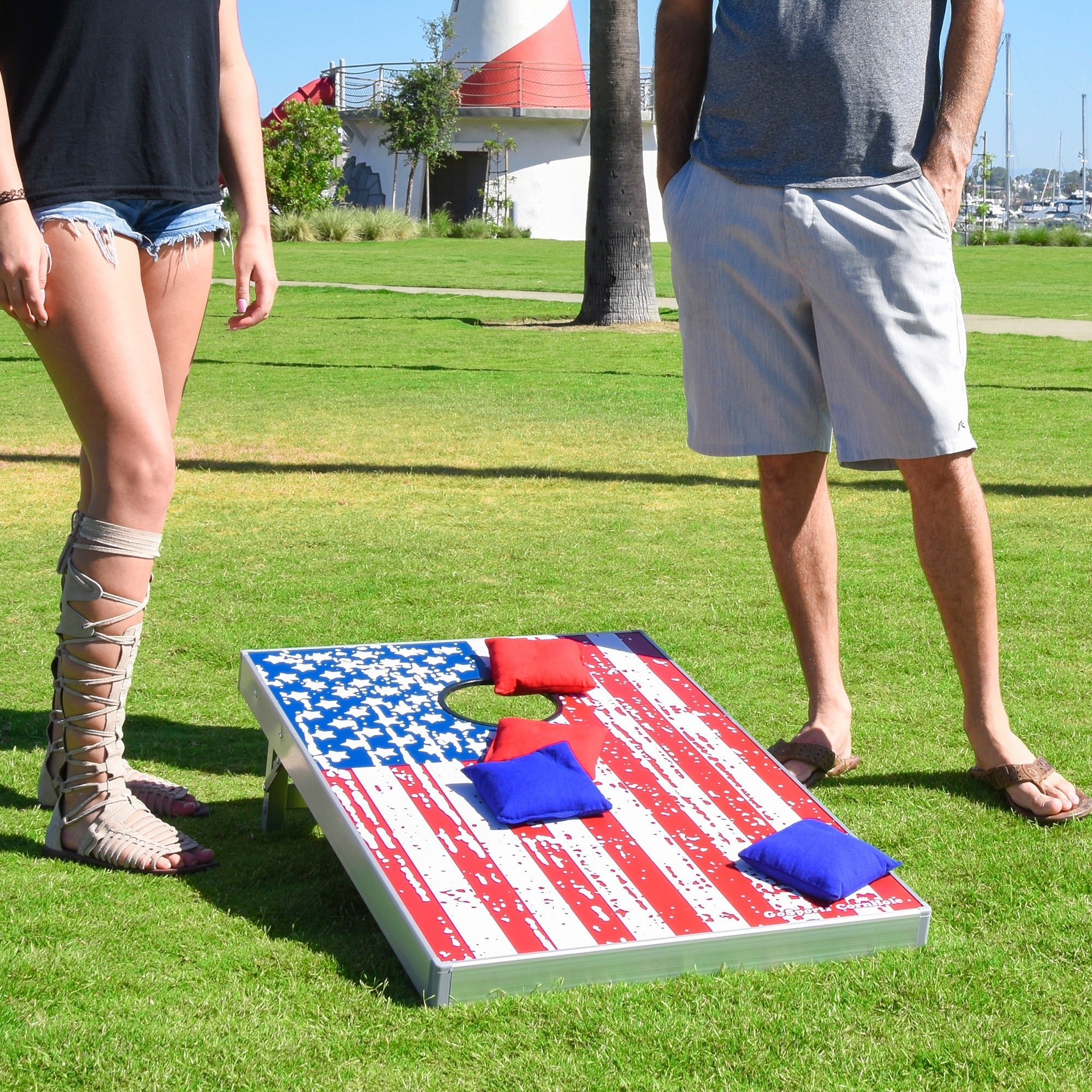 Gosports American Flag Bean Bag Toss Set Free Shipping Today 14822177