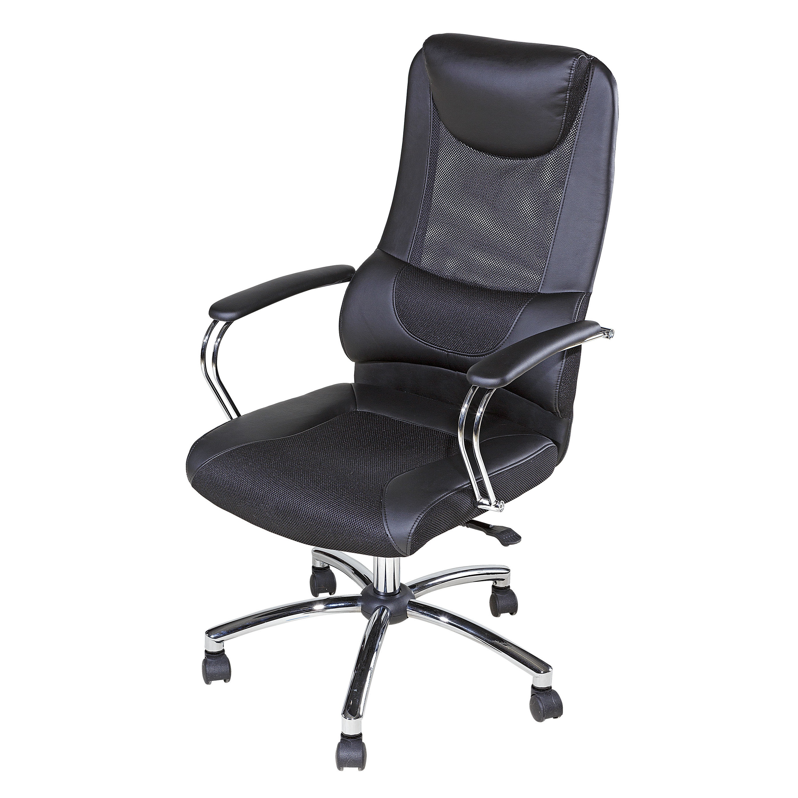 eSpace 60 5902 Black Mesh High back Executive Chair with Head and