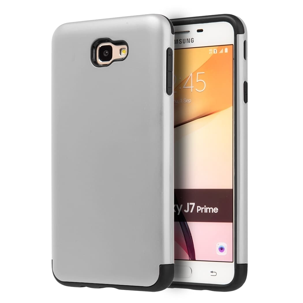 Shop Samsung Galaxy J7 Prime / On7 (2016) Crash Guard Dual Hybrid Case - Free Shipping On Orders Over $45 - Overstock - 14951109