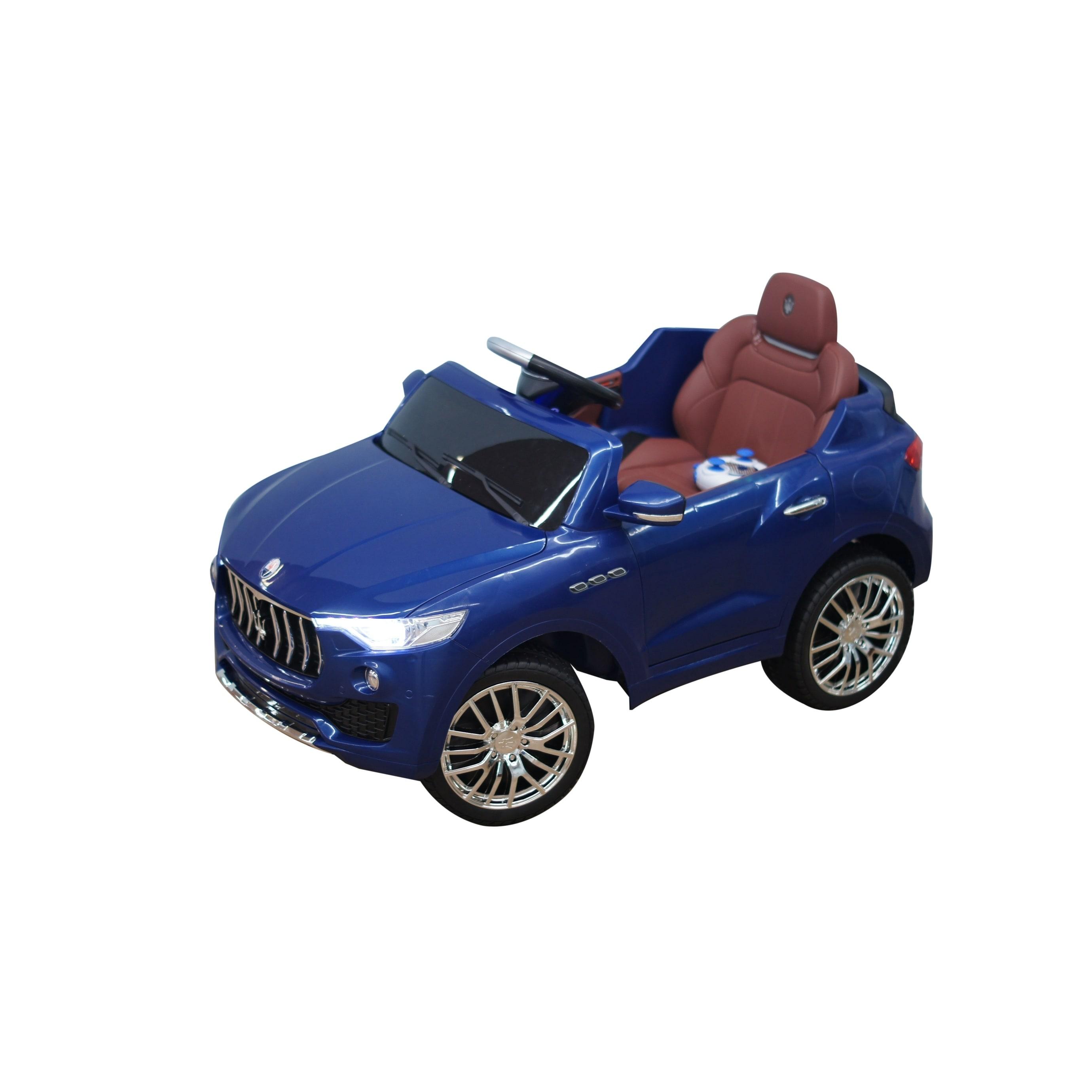 Shop Best Ride On Cars Kids Blue Maserati 6v Battery Powered Ride On