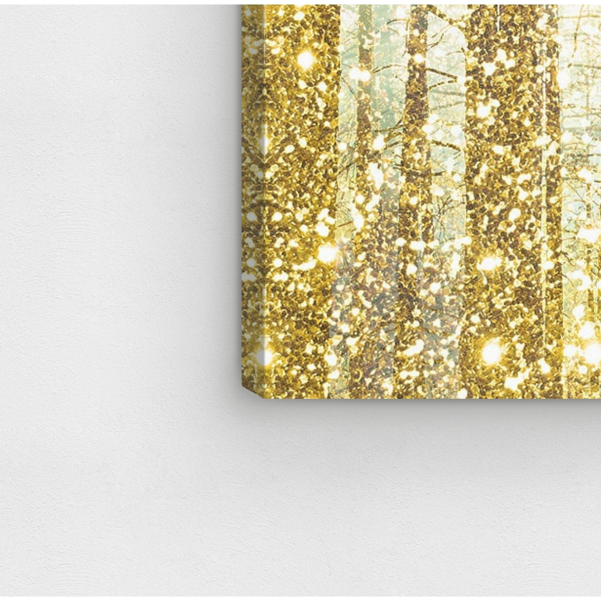 Shop Oliver Gal \'Magical Forest\' Canvas Art - GOLD - On Sale - Free ...