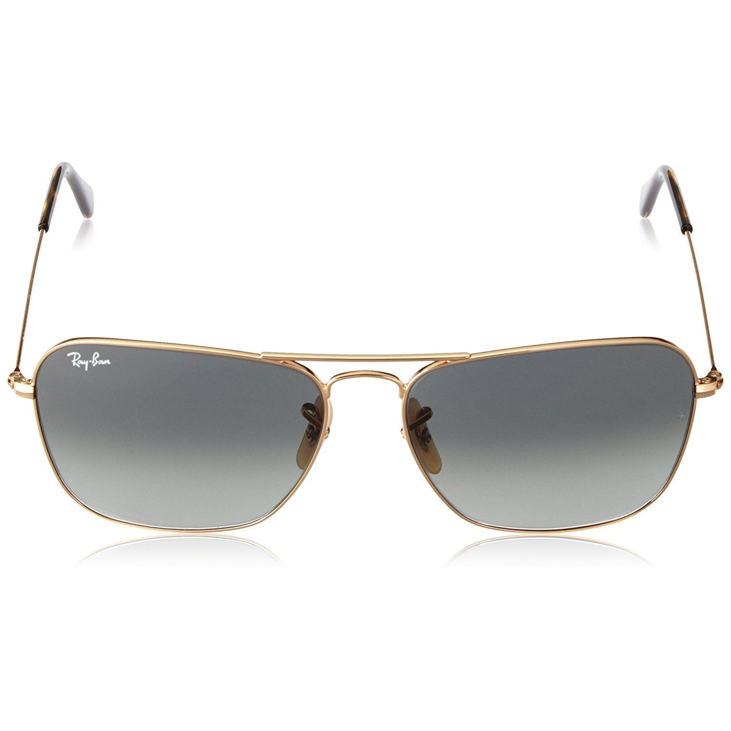 c475877fae Shop Ray-Ban Caravan RB3136 181 71 Unisex Gold Frame Grey Gradient 55mm Lens  Sunglasses - Free Shipping Today - Overstock - 14988856