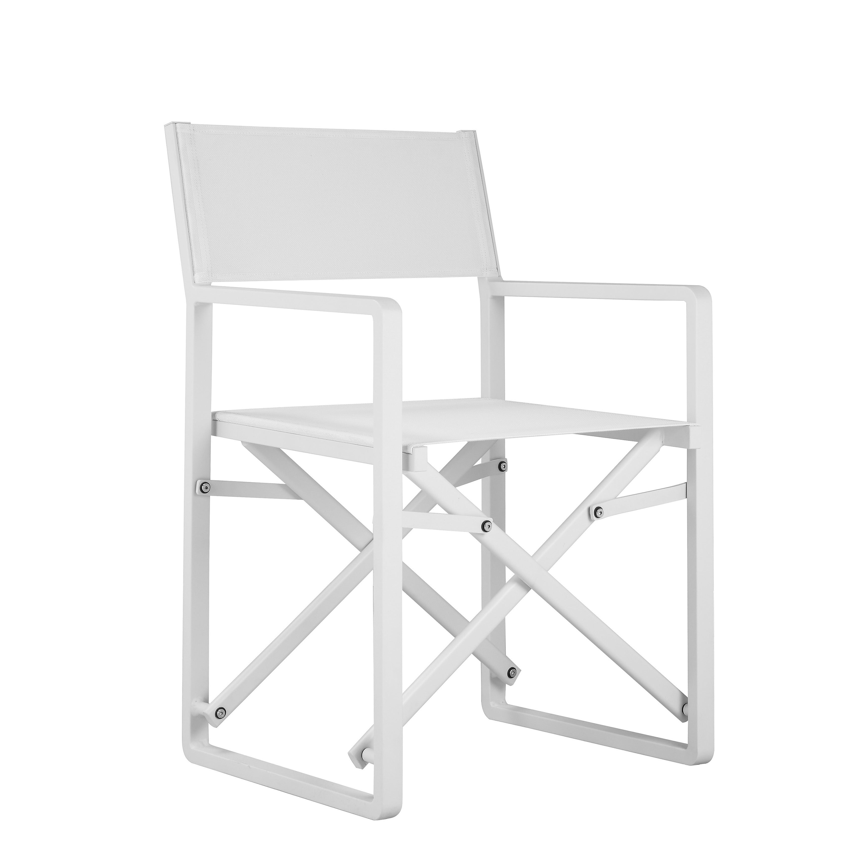 Shop SET OF 2 SUNSET DIRECTORS CHAIRS WHITE   On Sale   Free Shipping Today    Overstock.com   14989289
