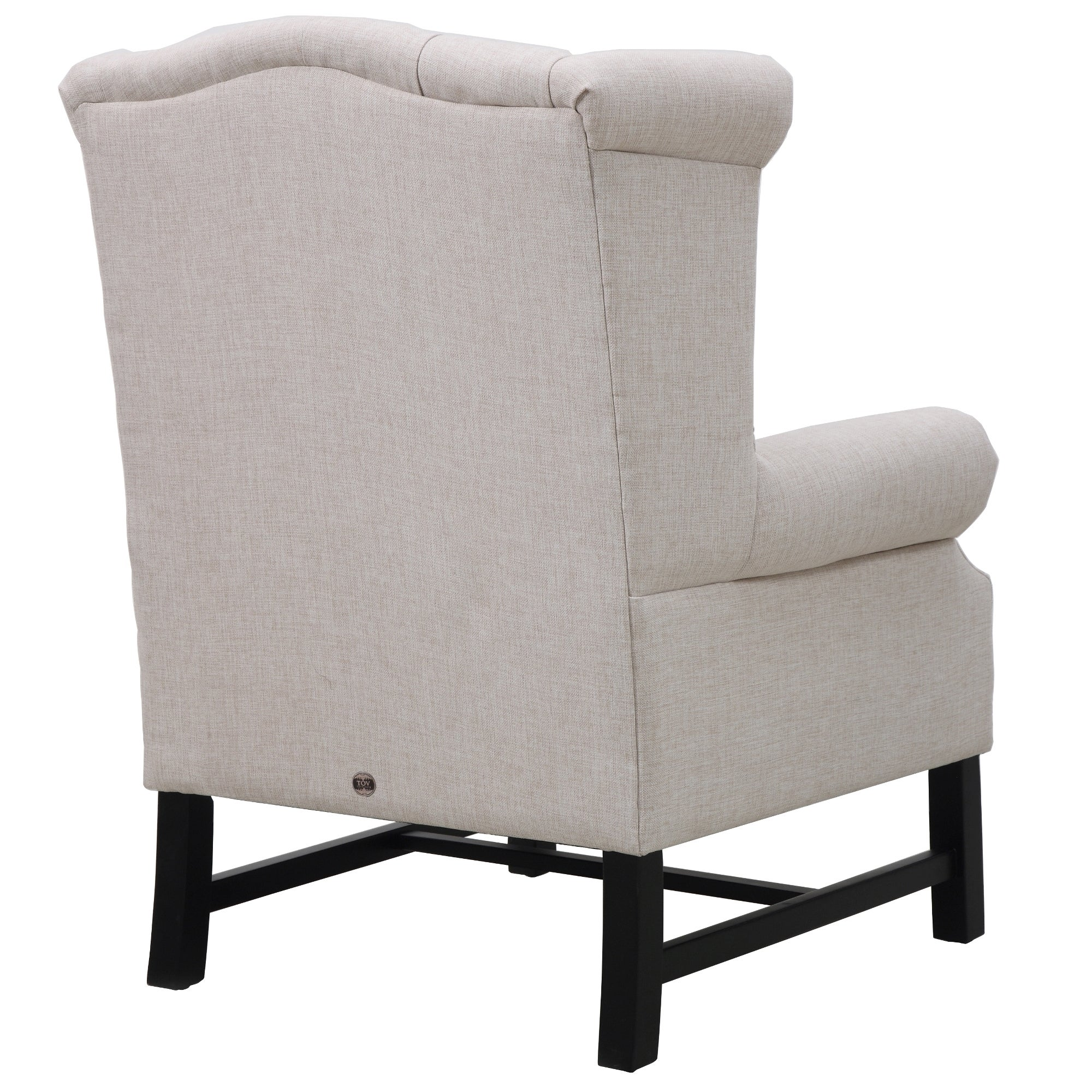 Shop Fairfield Grey Linen Club Chair   Free Shipping Today   Overstock.com    14990225