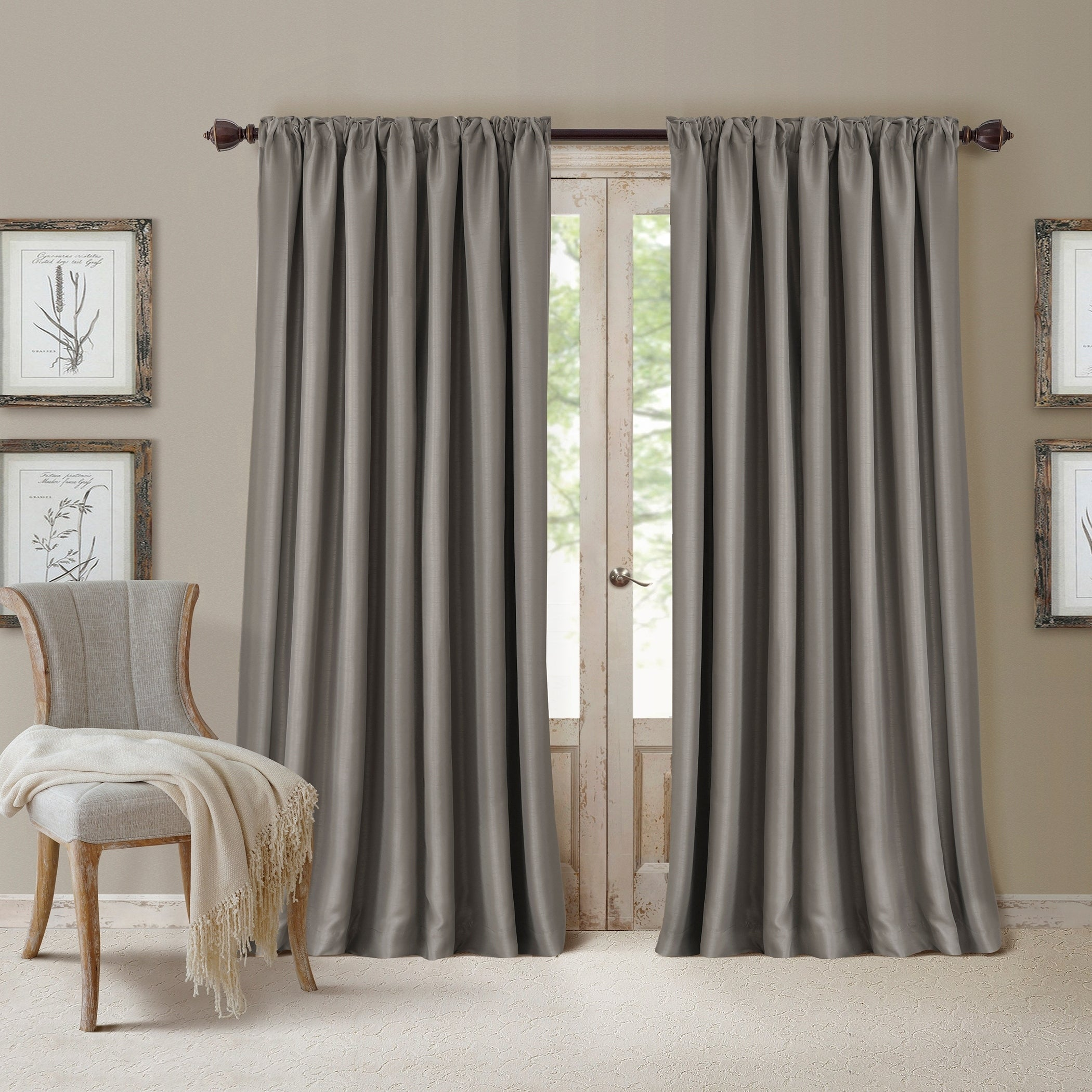 Shop Elrene All Seasons Blackout Curtain Panel - Free Shipping On Orders Over $45 - Overstock.com - 14999475