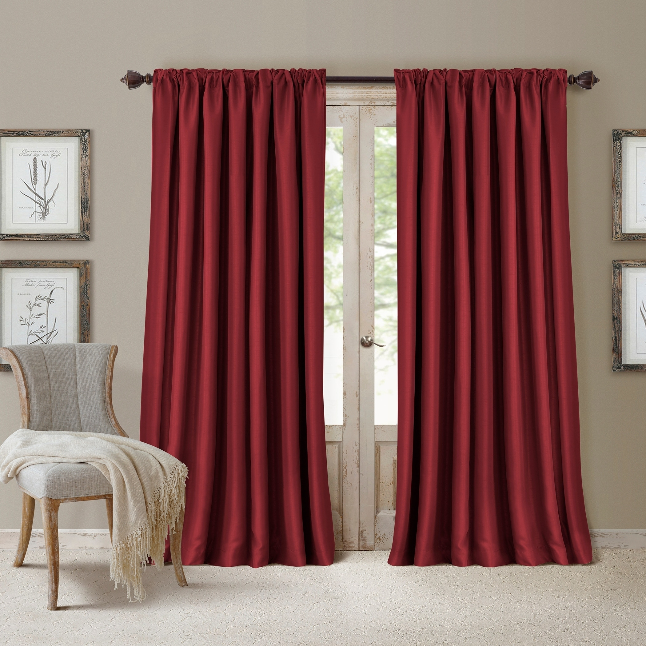 Elrene All Seasons Blackout Curtain Panel - Free Shipping On ...