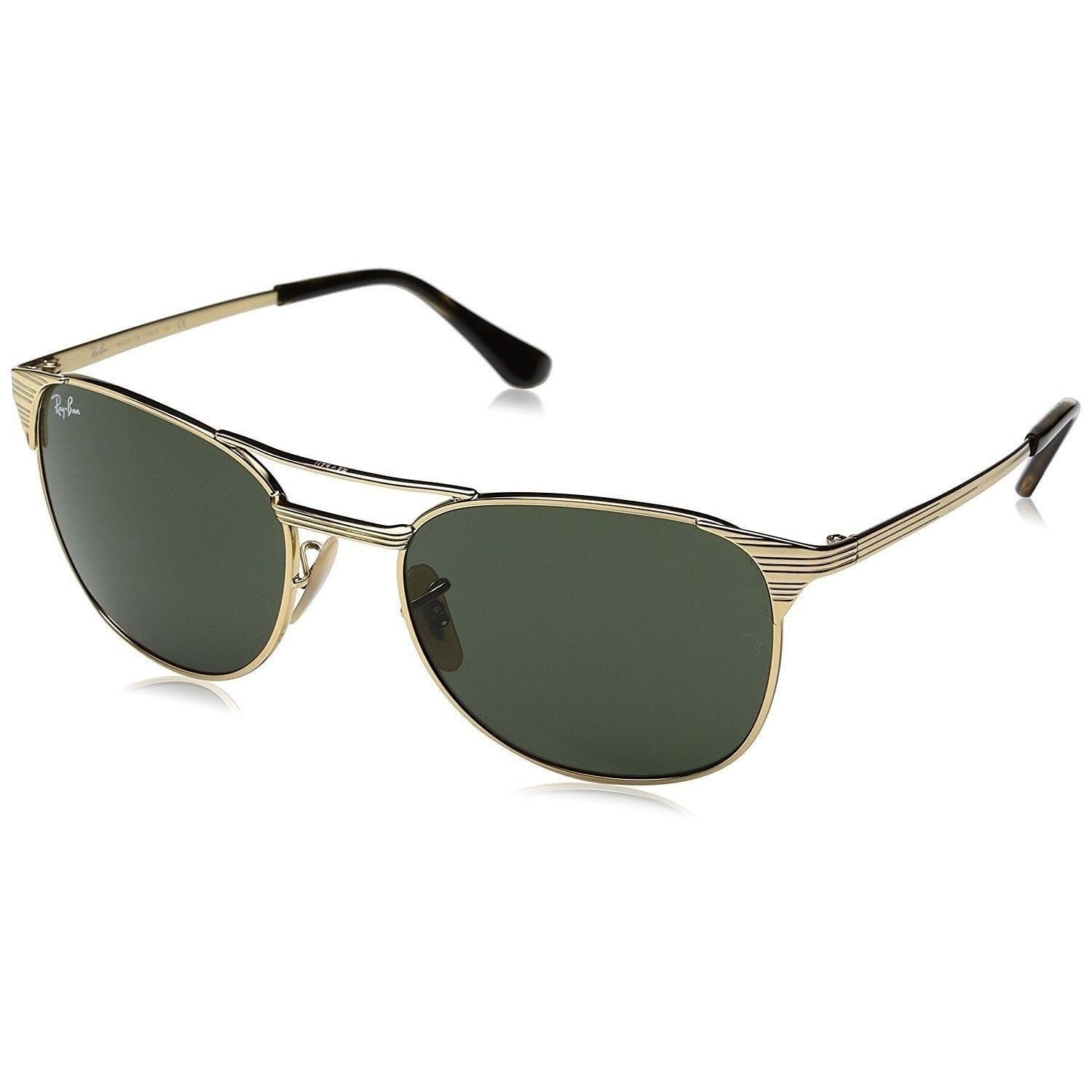 9007ed25598 Shop Ray-Ban RB3429M 001 Men s Signet Gold Frame Green Classic Lens  Sunglasses - Free Shipping Today - Overstock - 15002667