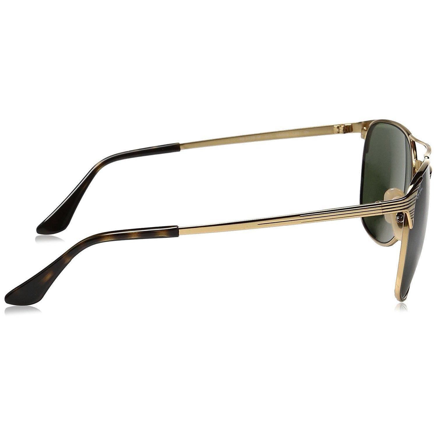 a9be4c349e Shop Ray-Ban RB3429M 001 Men s Signet Gold Frame Green Classic Lens  Sunglasses - Free Shipping Today - Overstock - 15002667