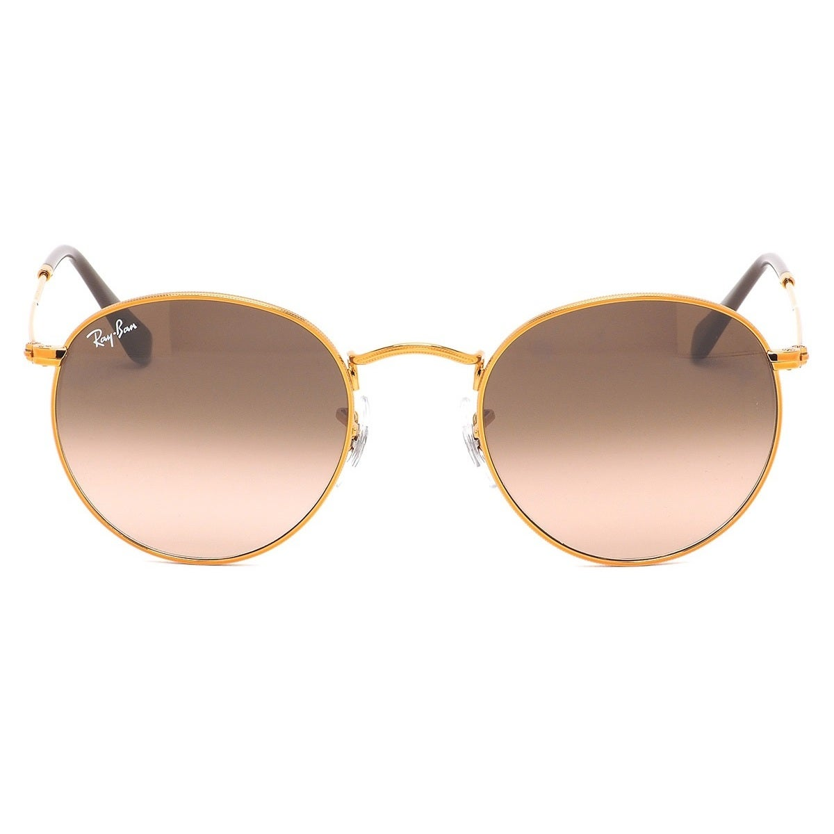 5bfe5bd57eb5c Shop Ray-Ban RB3447 9001A5 Unisex Round Bronze-Copper Frame Pink Brown  Gradient Lens Sunglasses - Free Shipping Today - Overstock - 15002943
