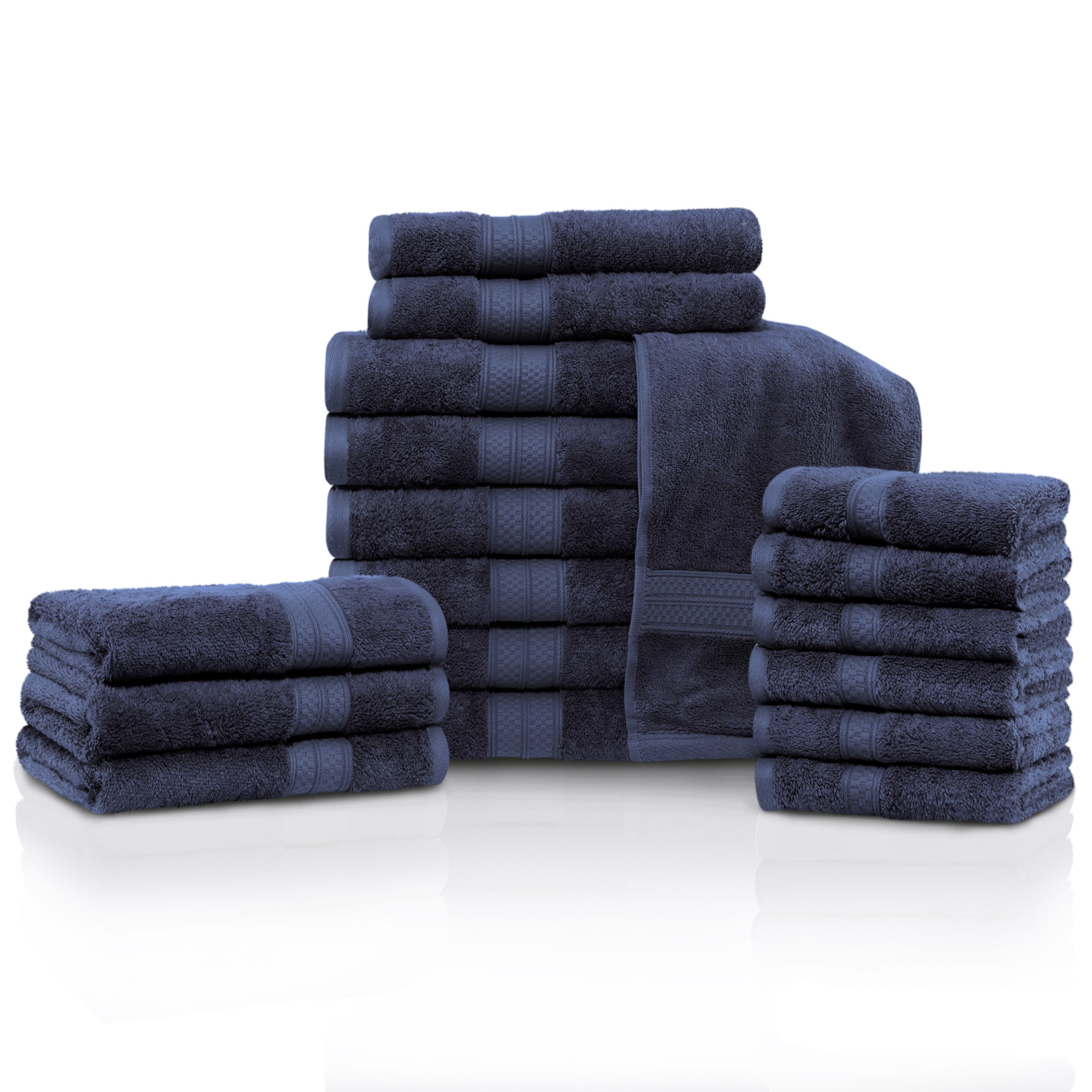 Superior Rayon From Bamboo And Cotton 18 Piece Bathroom Towel Set   On Sale    Free Shipping Today   Overstock.com   21502860