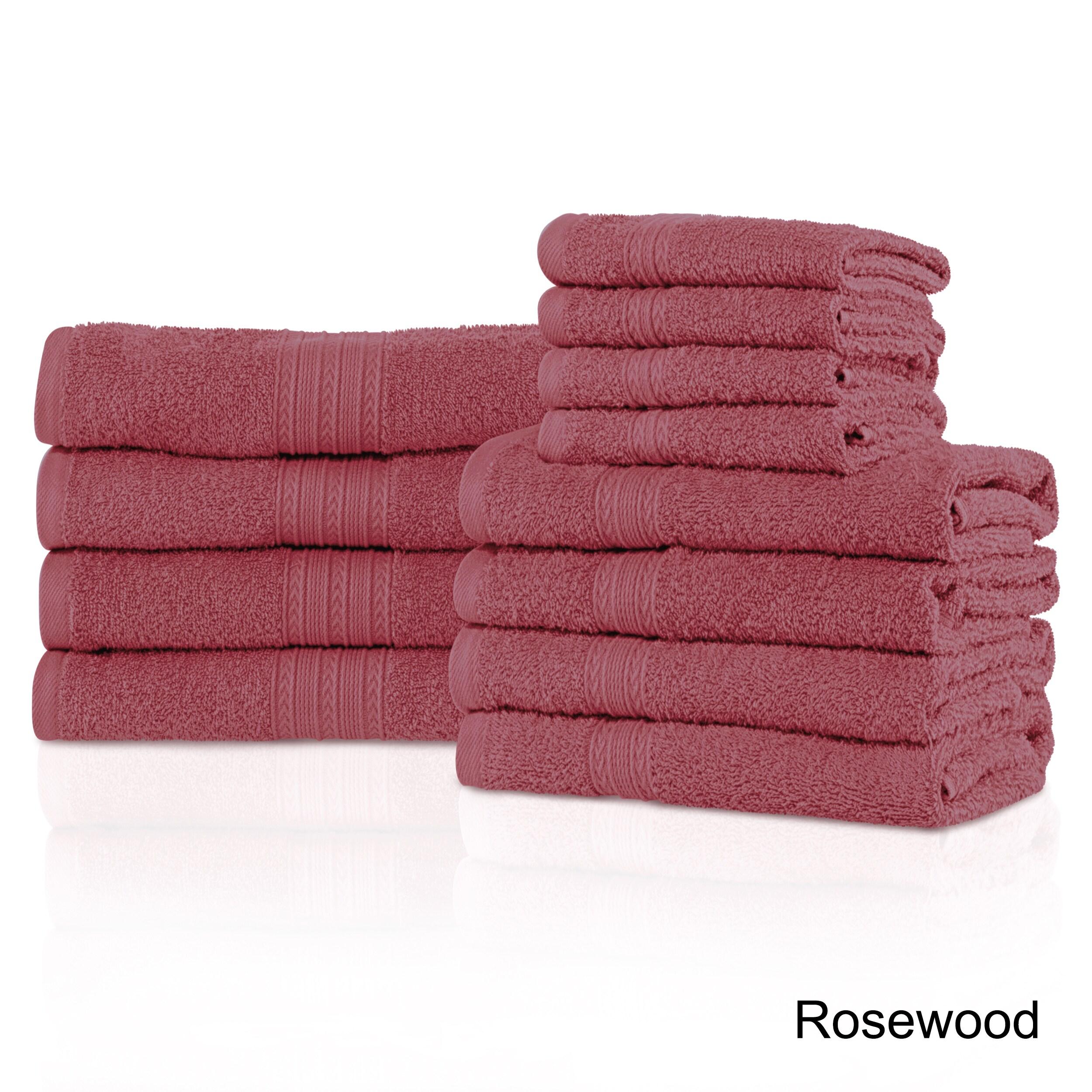 Shop Superior Eco-Friendly 100-percent Ring-Spun Cotton 12-Piece ...