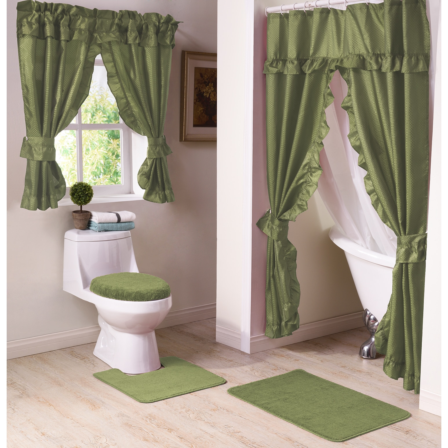 Shop Starlite 11 Piece Shower Curtain And Window Curtain Bath Set