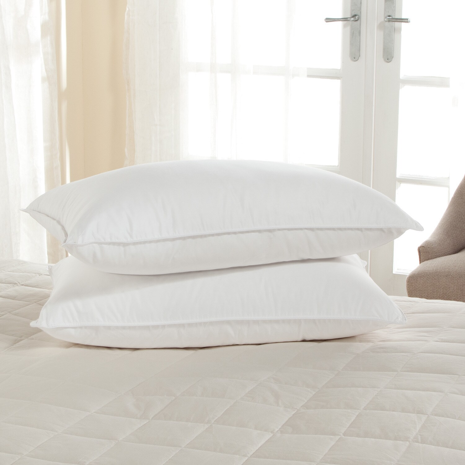 white wicking p pillow alternative down firm zi excellence noble thread count hydrocool moisture dillards