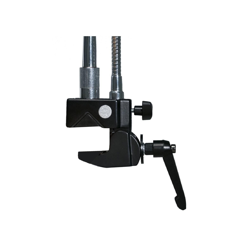 CTA Digital PAD-MTG Clamp Mount for Microphone, Tablet PC, iPad mini, iPad  Pro, iPad Air - Black, Silver