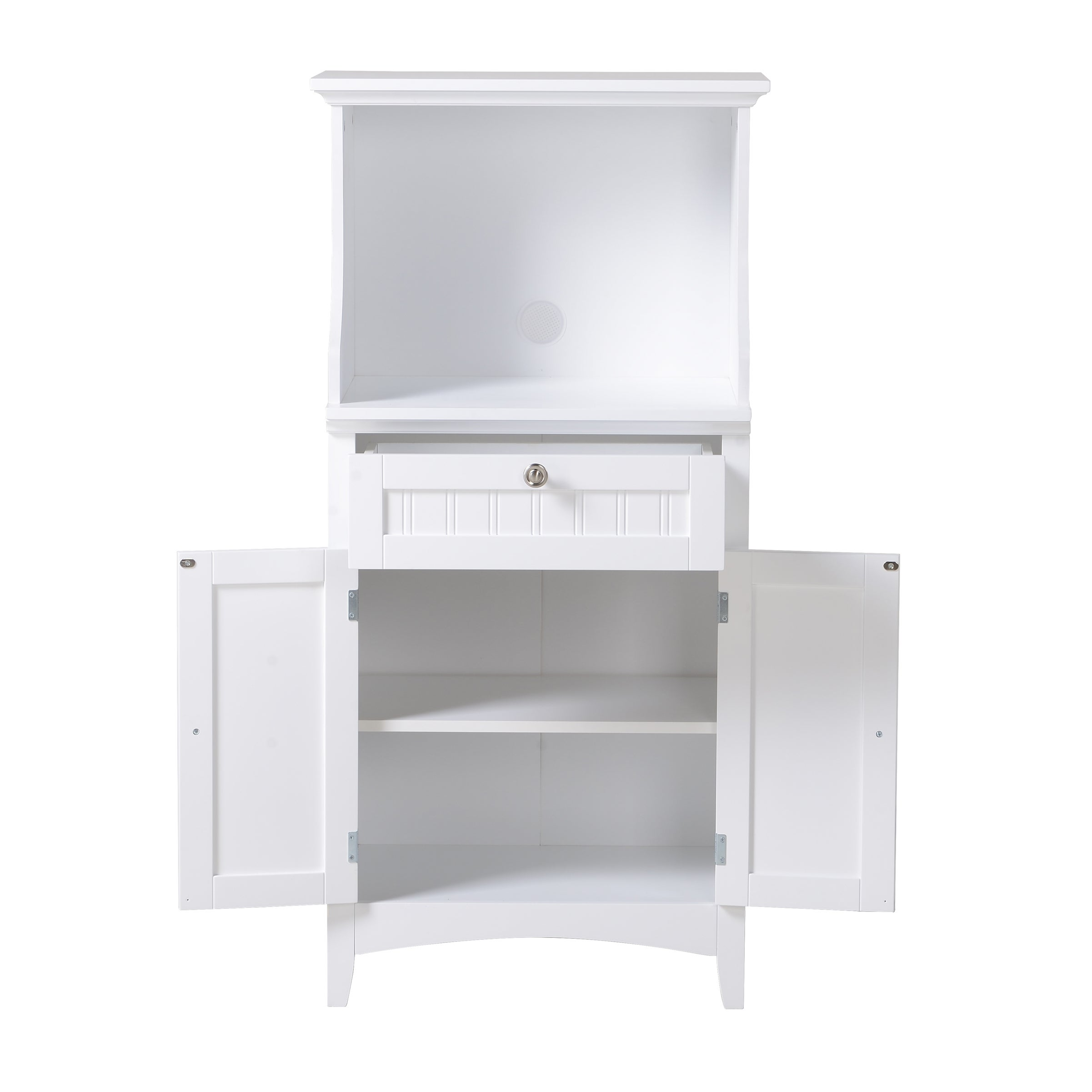 brook cabinet source cherry com drawer finish home and with tall upper dp kitchen lower wood an white microwave amazon industries