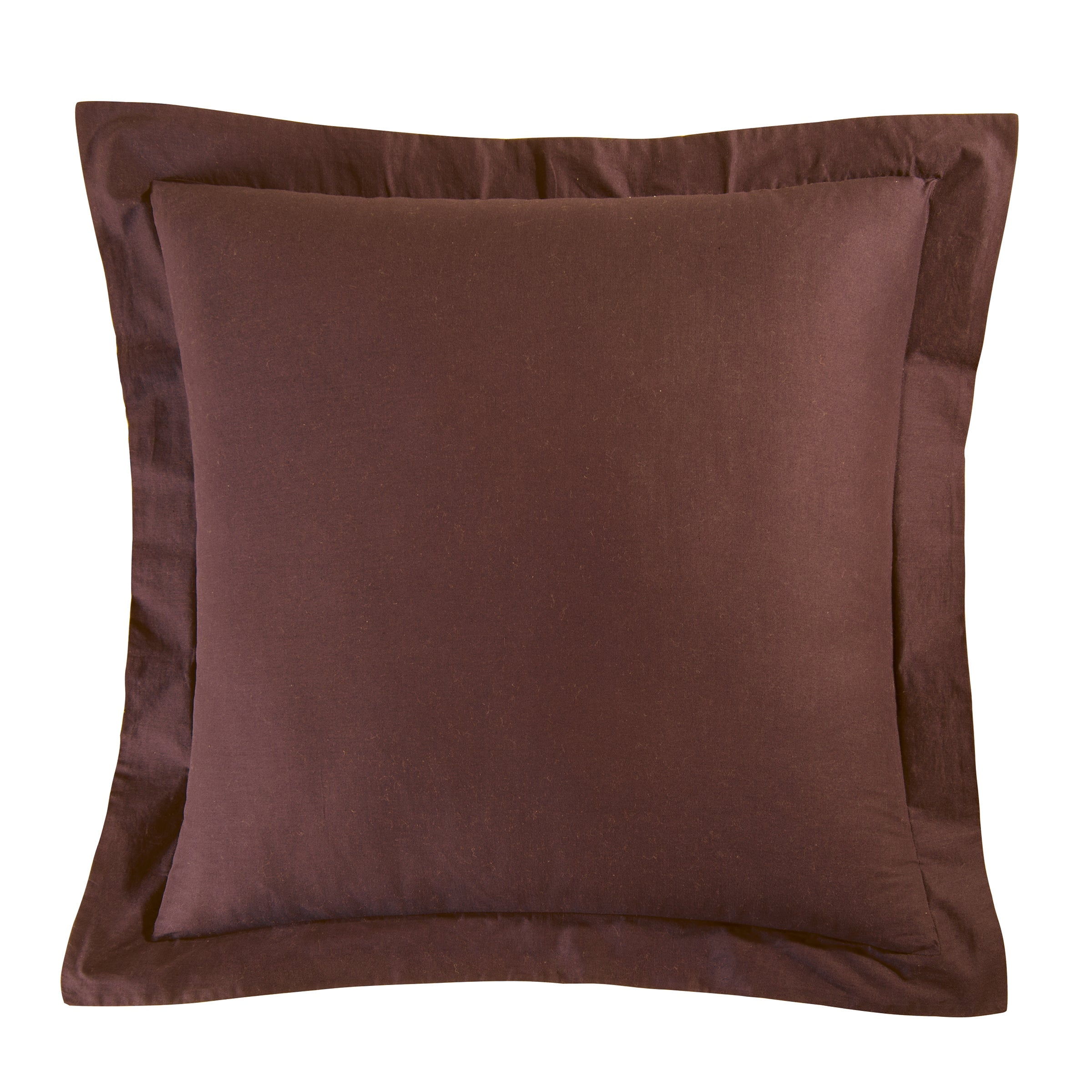 Shop Pine Canopy Superior Brown Cotton Euro Sham - On Sale - Free ...