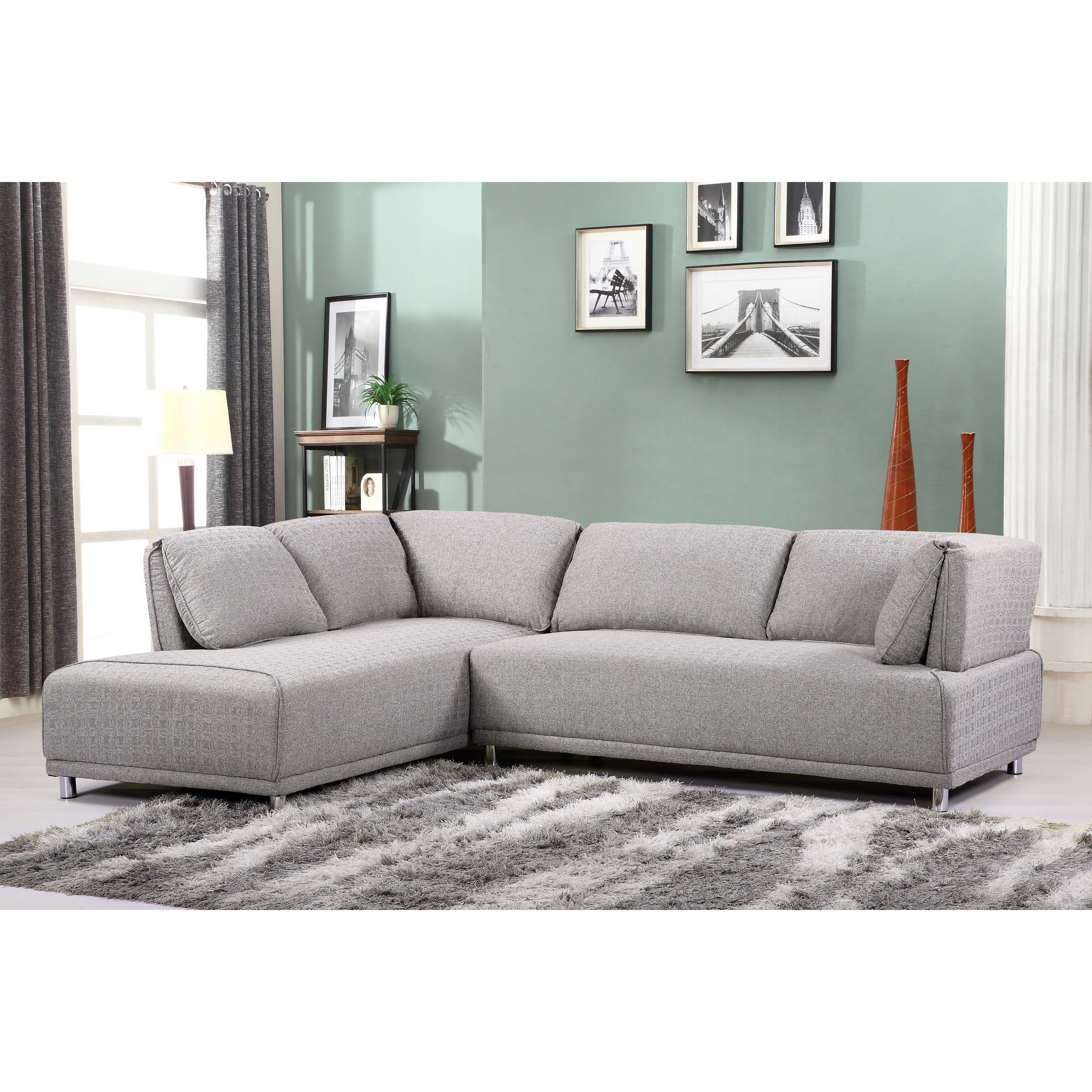 fabric sectional coaster steal sofa stonenesse a grey furniture chaise