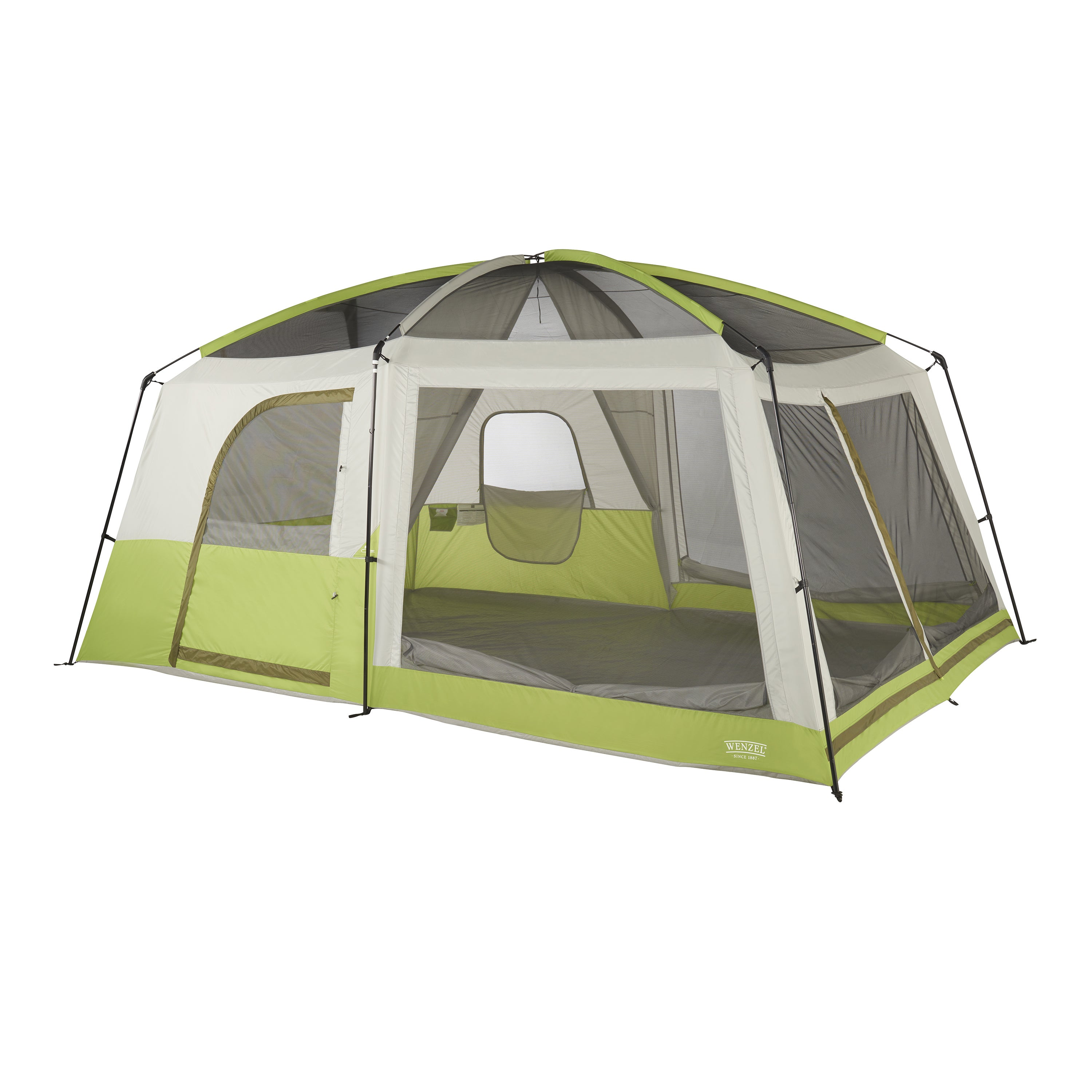 Wenzel Eldorado Green 10-person Cabin Tent - Free Shipping Today - Overstock.com - 21528778  sc 1 st  Overstock.com & Wenzel Eldorado Green 10-person Cabin Tent - Free Shipping Today ...