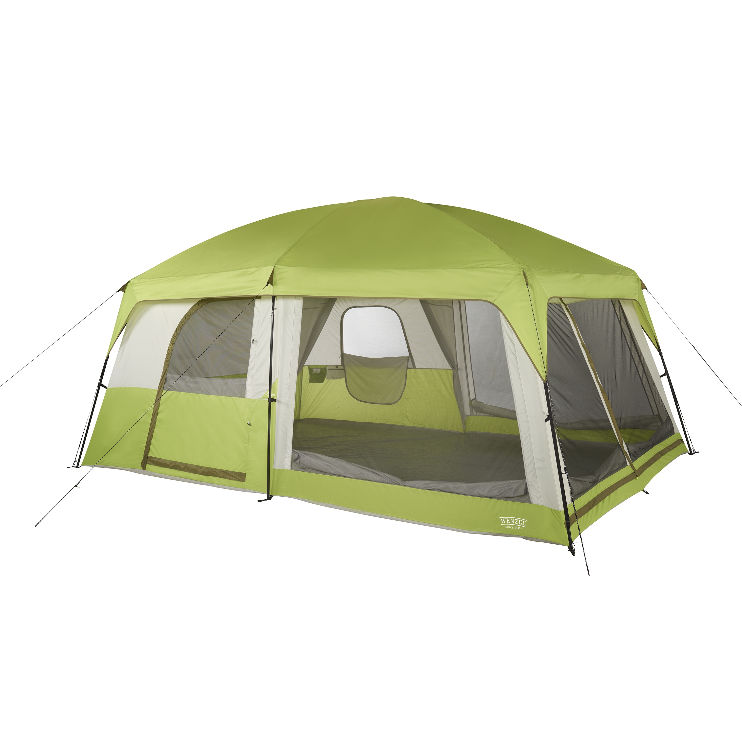 e0ad3eb8667 Shop Wenzel Eldorado Green 10-person Cabin Tent - On Sale - Free Shipping  Today - Overstock - 15033480