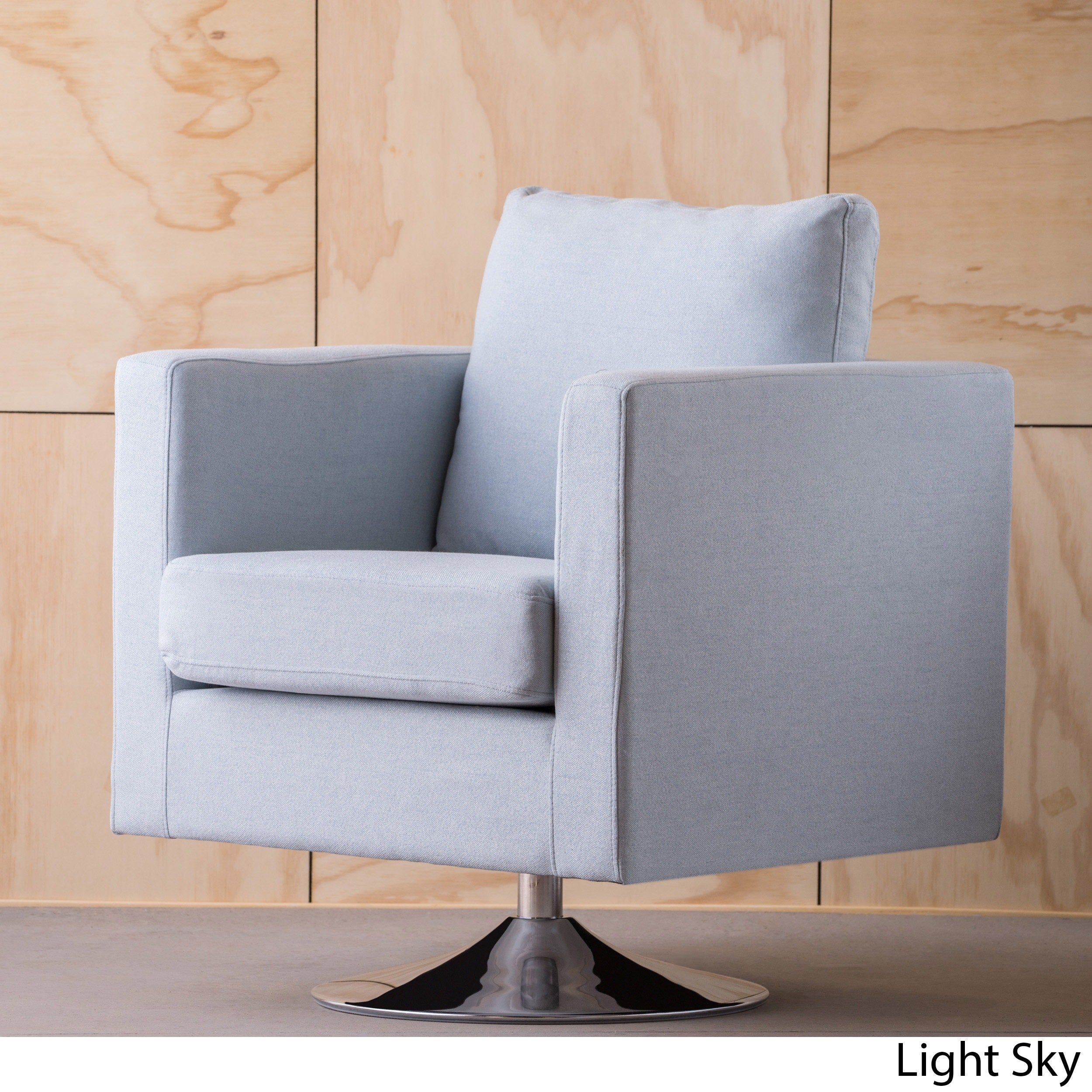 Holden Modern Fabric Swivel Club Chair By Christopher Knight Home On Free Shipping Today 15037701