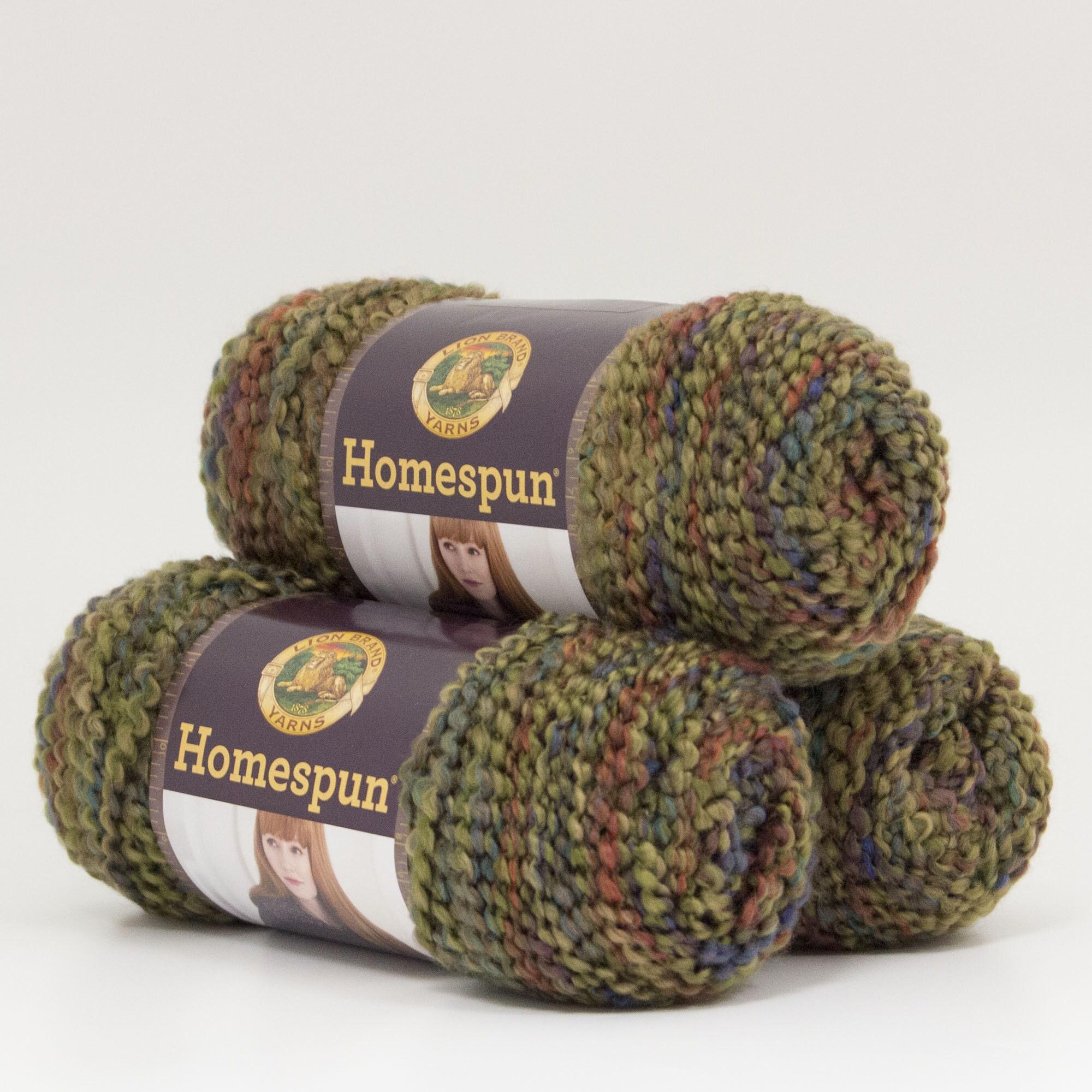 Shop Lion Brand Yarn Homespun Prairie 790 335 3 Pack Fashion Yarn