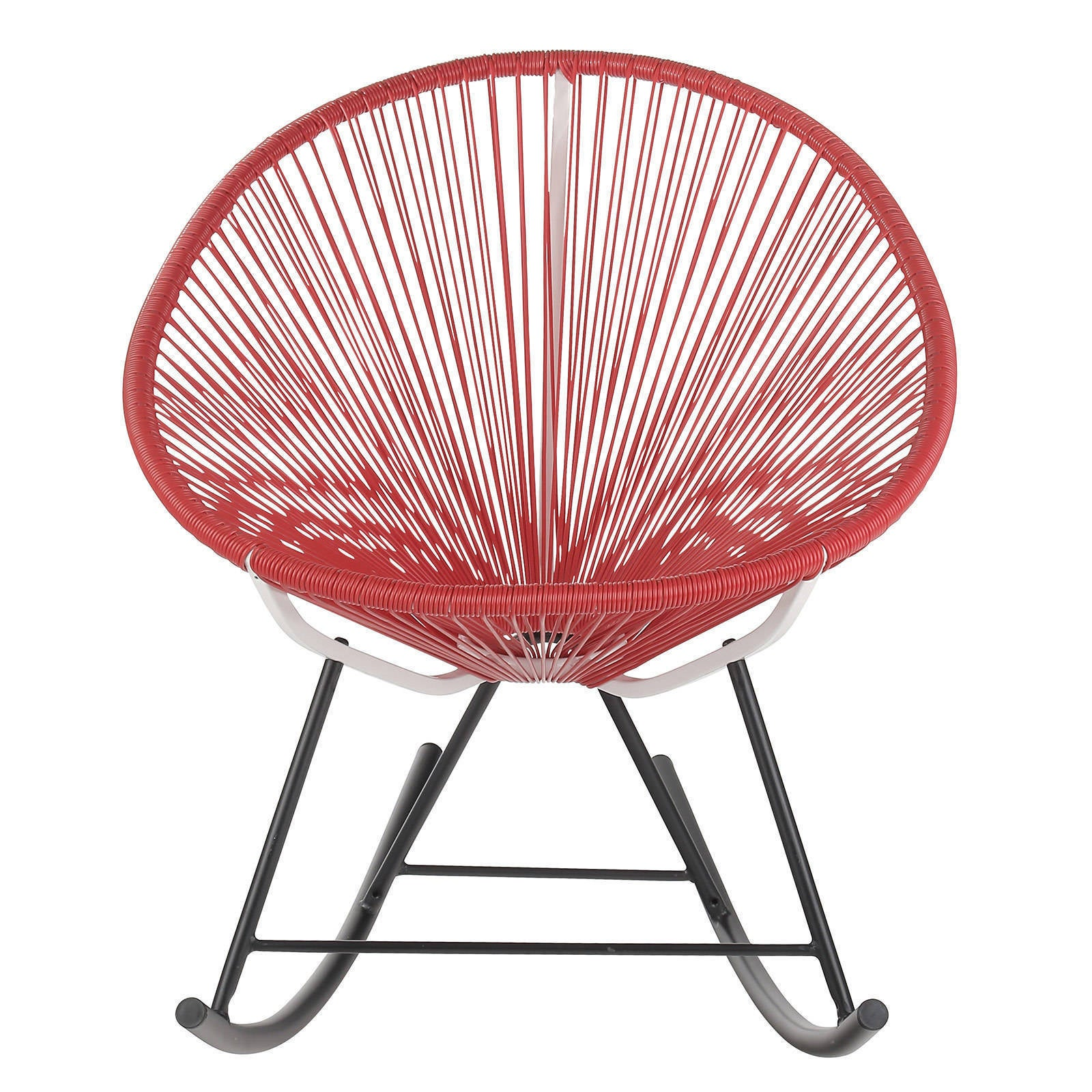 woven metal furniture. Acapulco Woven Basket Rocking Chair - Ships To Canada Overstock 21562197 Metal Furniture U