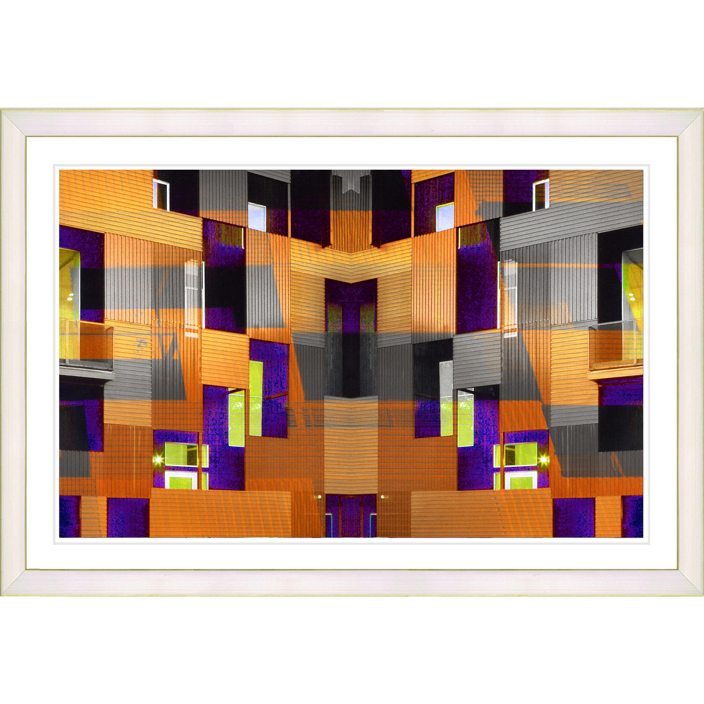 Studio Works Modern Framed Fine Art Contemporary Abstract \'Atrium ...