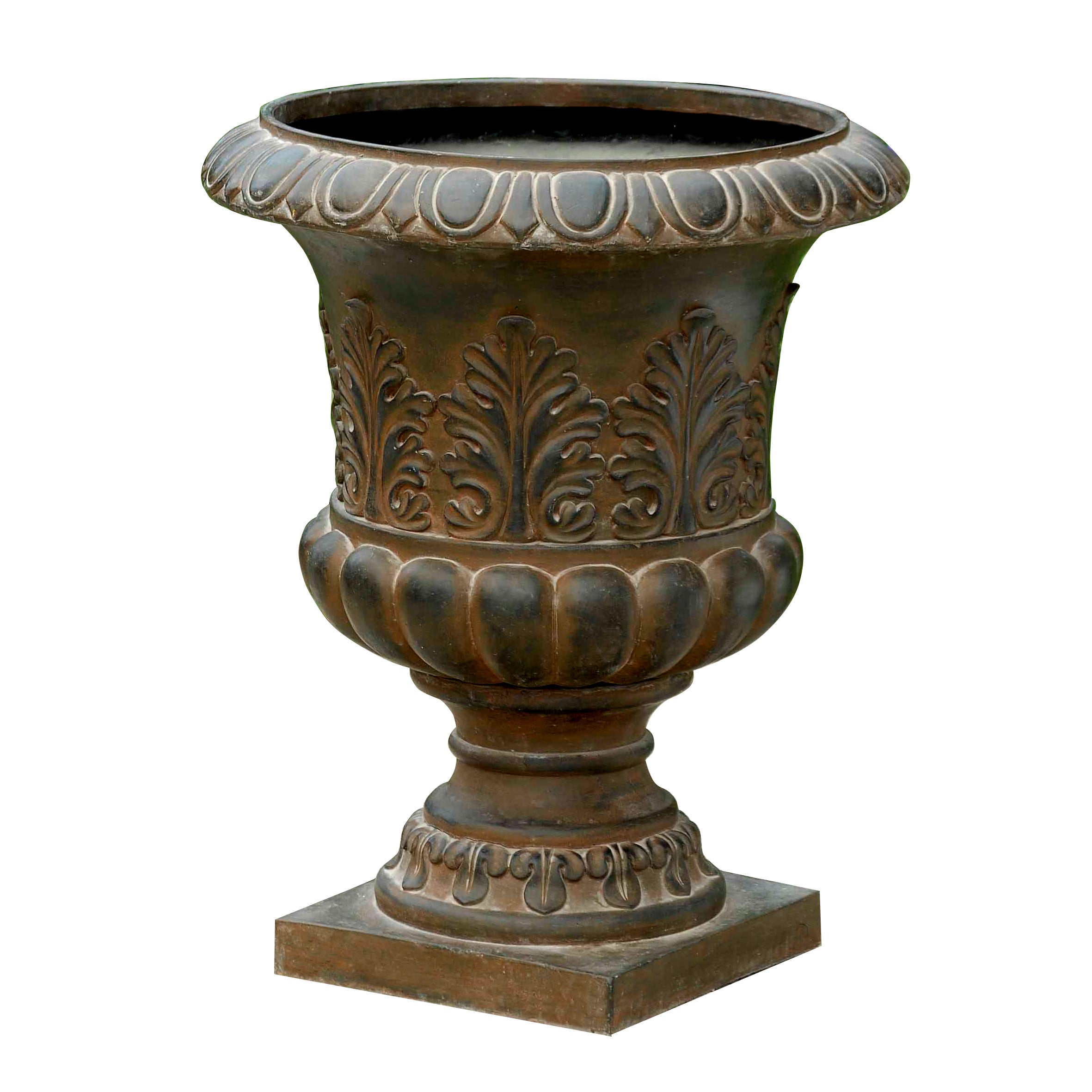 trowbridge urns urn small pin cast campania international stone planter