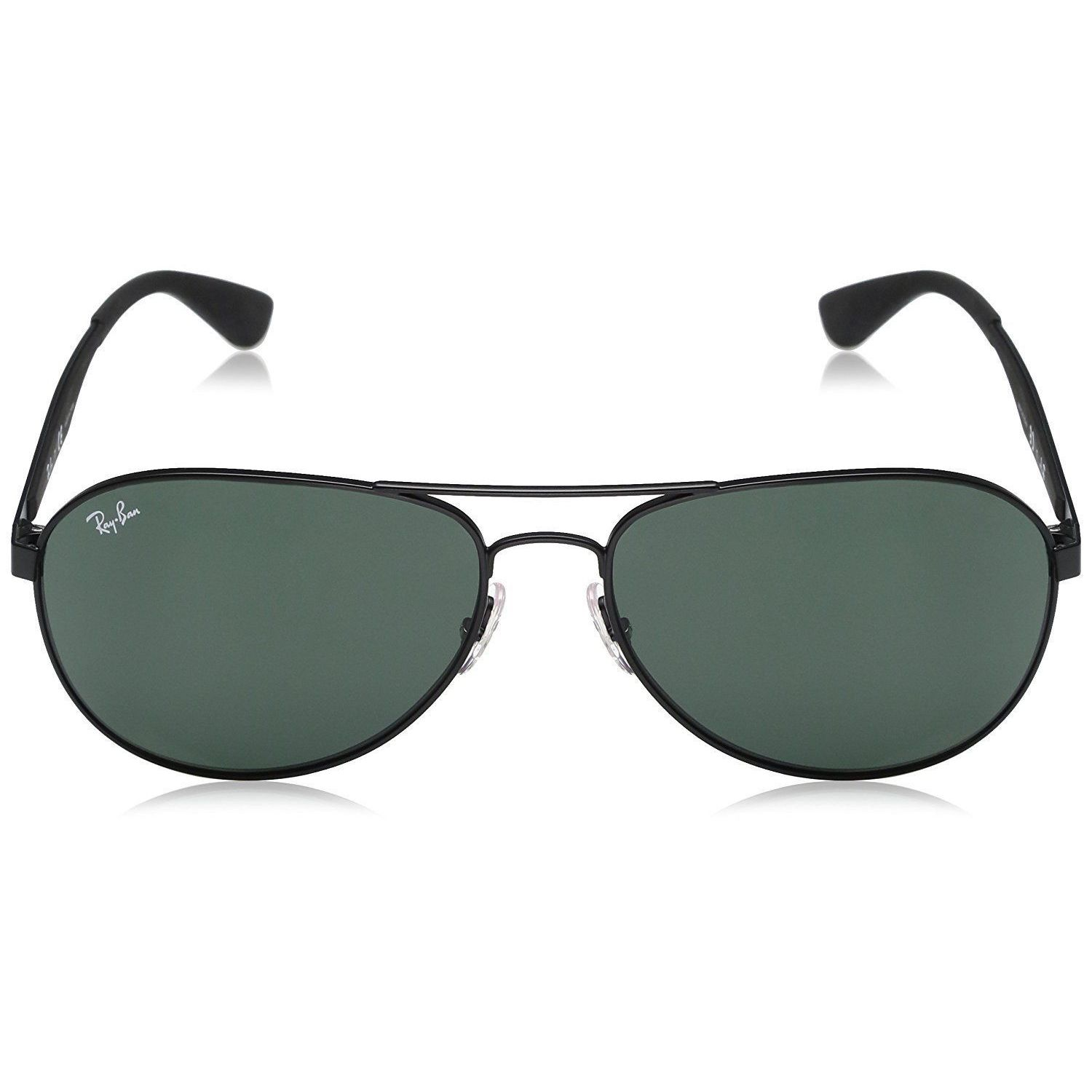 Shop Ray-Ban RB3549 006 71 Men s Black Frame Green Classic Lens Sunglasses  - Free Shipping Today - Overstock - 15079028 bf7c99226d