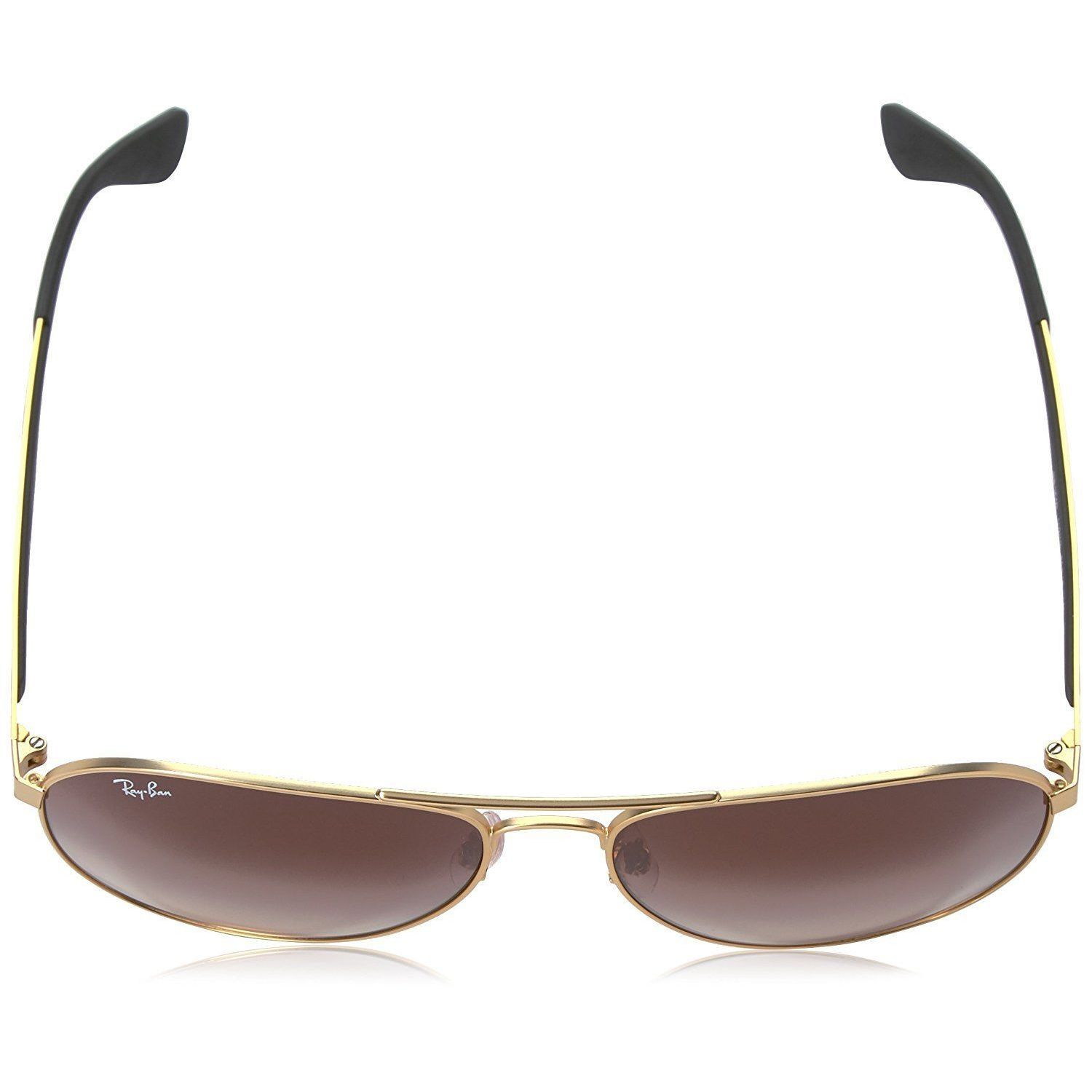 54acd5ea93415 Shop Ray-Ban RB3549 112 13 Men s Gold Black Frame Brown Gradient Lens  Sunglasses - Free Shipping Today - Overstock - 15079051