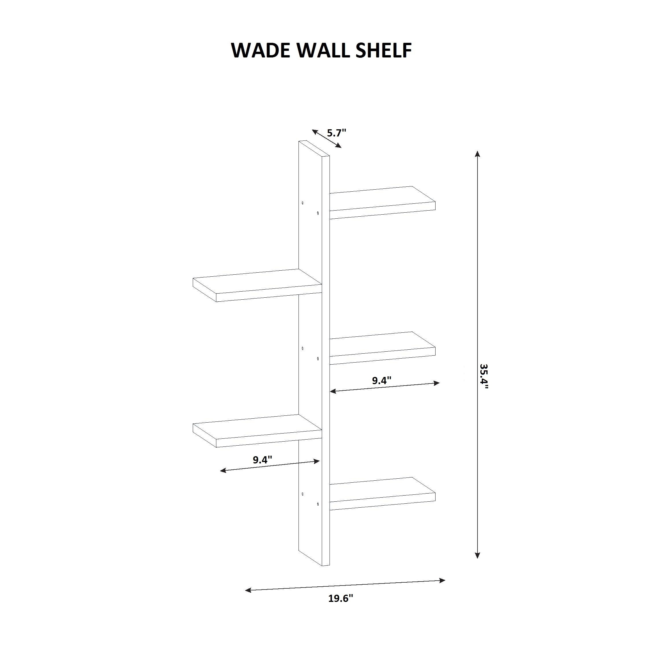 Wade 20 x 35 x 6 modern minimalist wall shelf free shipping wade 20 x 35 x 6 modern minimalist wall shelf free shipping today overstock 21568921 ccuart Images