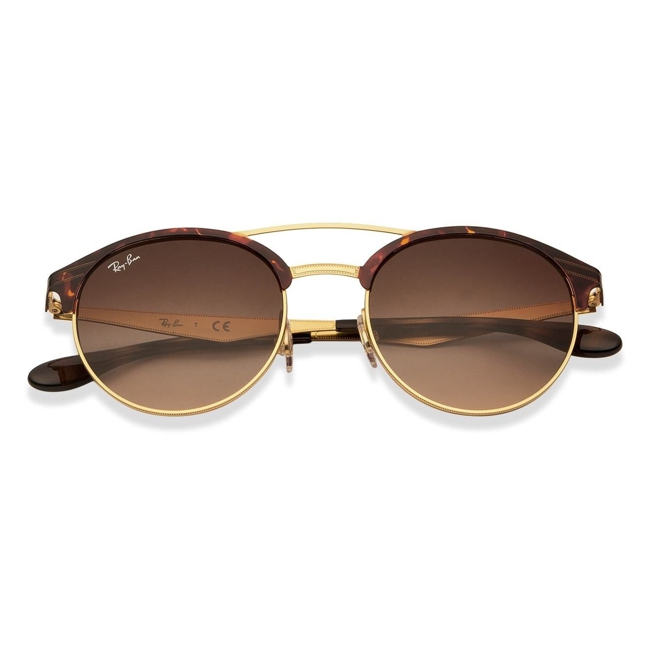 17e581cf56e Shop Ray-Ban RB3545 900813 Unisex Tortoise Gold Frame Brown Gradient Lens  Sunglasses - Free Shipping Today - Overstock - 15079153