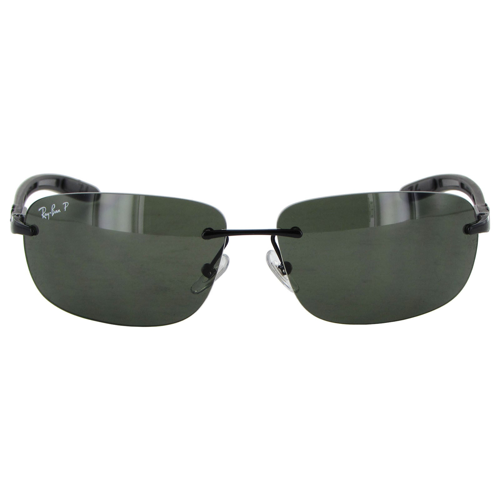 0e99c49132 Shop Ray Ban Tech Carbon Fibre 8303 Mens Black Frame Green Polarized Lens  Sunglasses - Free Shipping Today - Overstock - 15079251