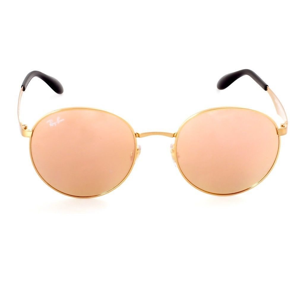 1b196b26dd605 Shop Ray-Ban RB3537 001 2Y Men s Gold Frame Copper Mirror Lens Sunglasses -  Free Shipping Today - Overstock - 15079374