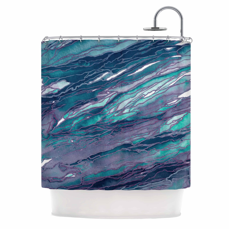 Shop KESS InHouse Ebi Emporium Agate Magic - Lilac Teal Blue ...
