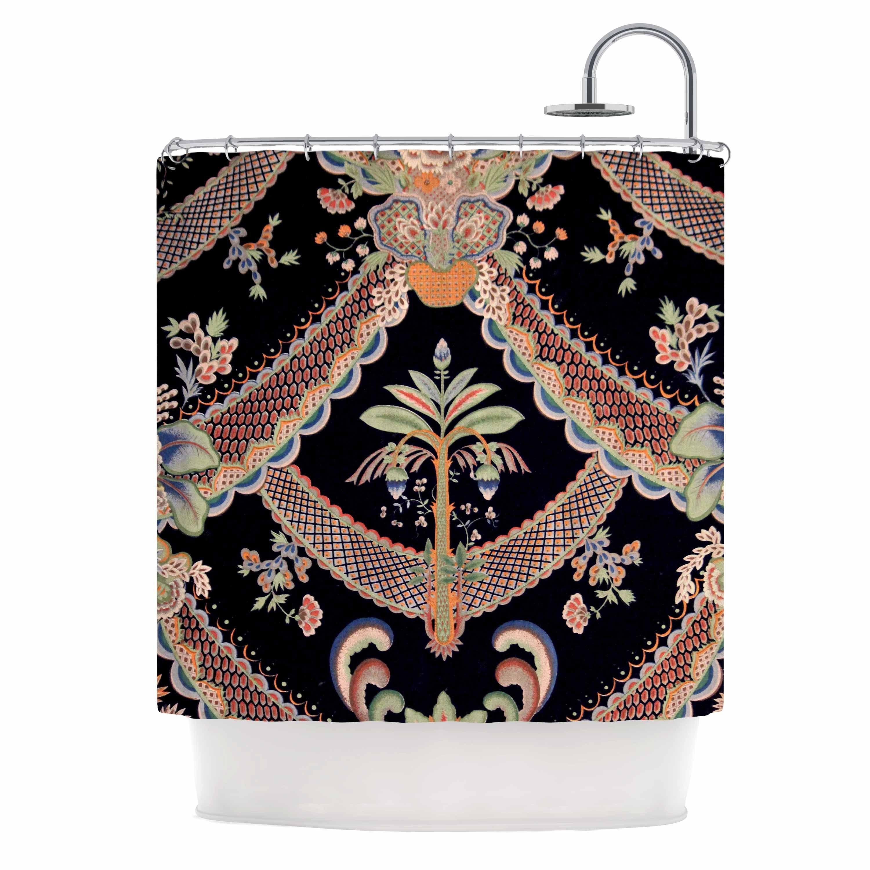 ethnic digital illustration shower mandala pin from images kess orange curtains curtain afe blue pattern