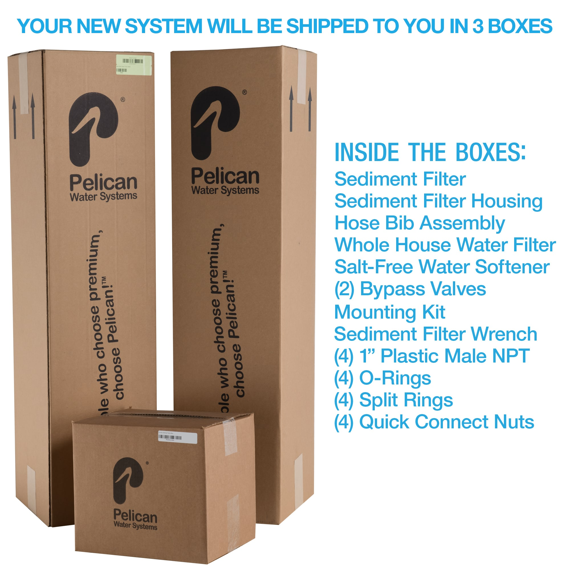 Shop 15 Gpm Whole House Water Filtration And Natursoft Salt Free Diy Softener System On Sale Shipping Today 15095657